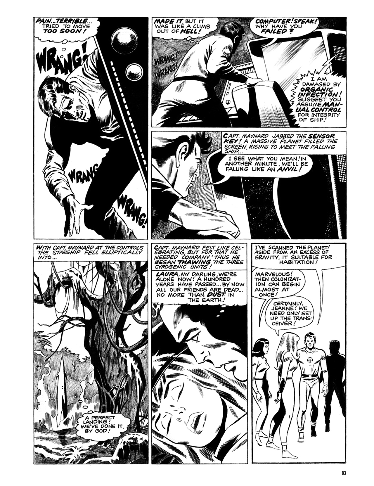 Read online Eerie Archives comic -  Issue # TPB 6 - 84
