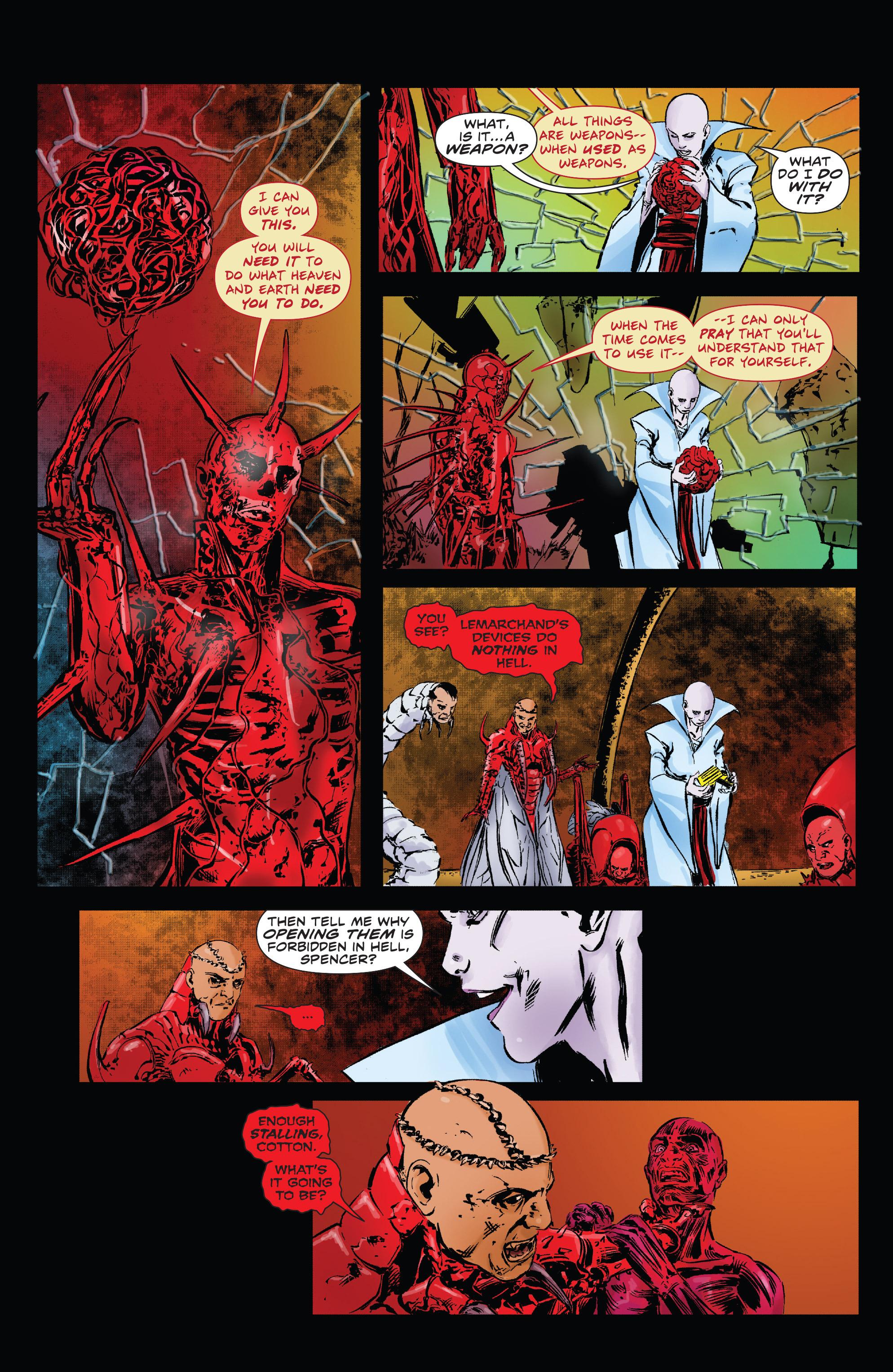 Read online Clive Barker's Hellraiser: The Dark Watch comic -  Issue # TPB 3 - 103