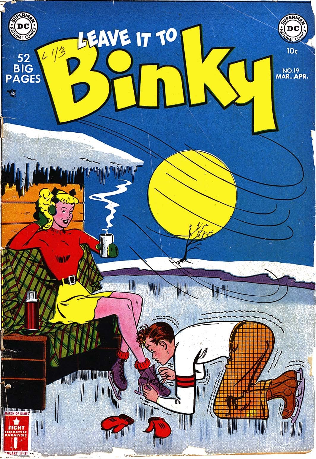 Leave it to Binky issue 19 - Page 1