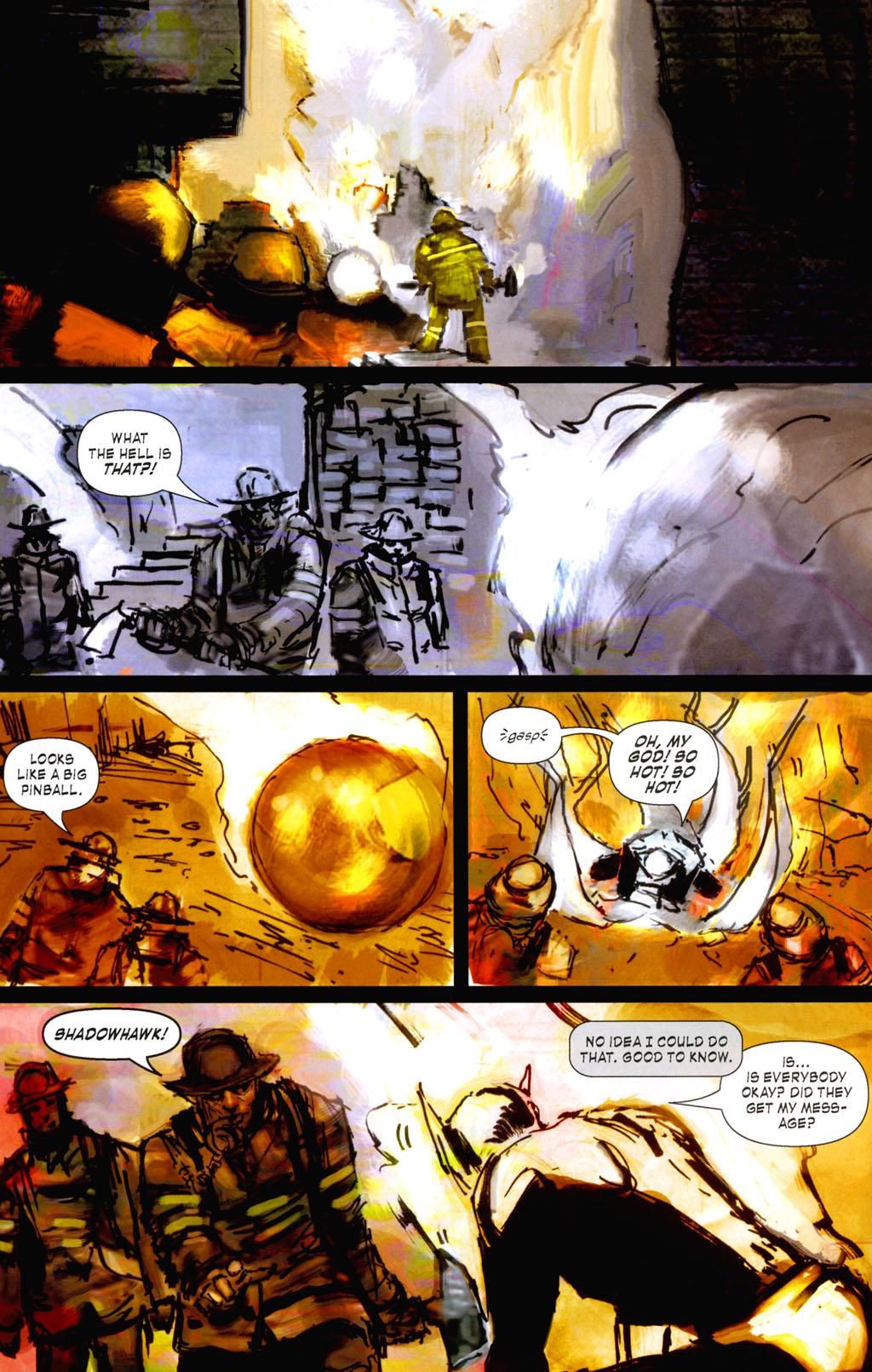 Read online ShadowHawk (2005) comic -  Issue #8 - 6