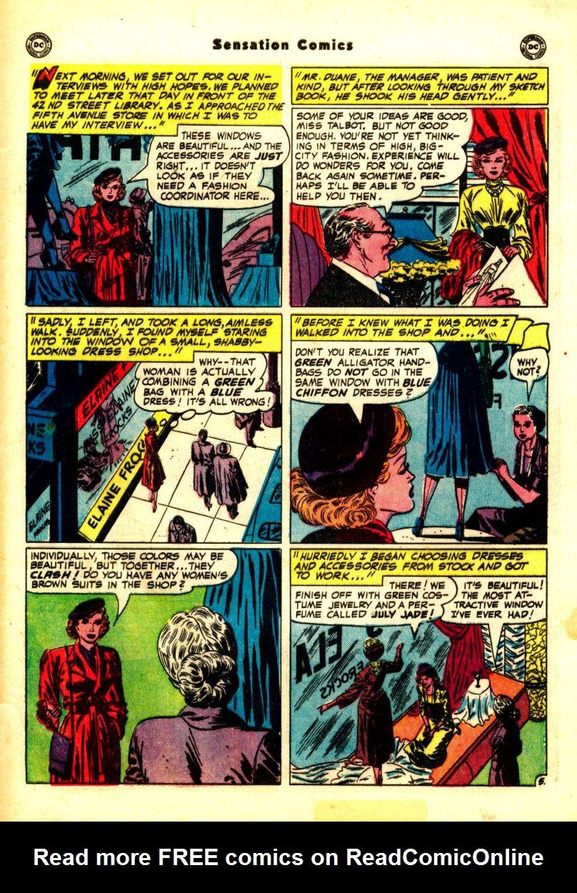 Read online Sensation (Mystery) Comics comic -  Issue #99 - 43