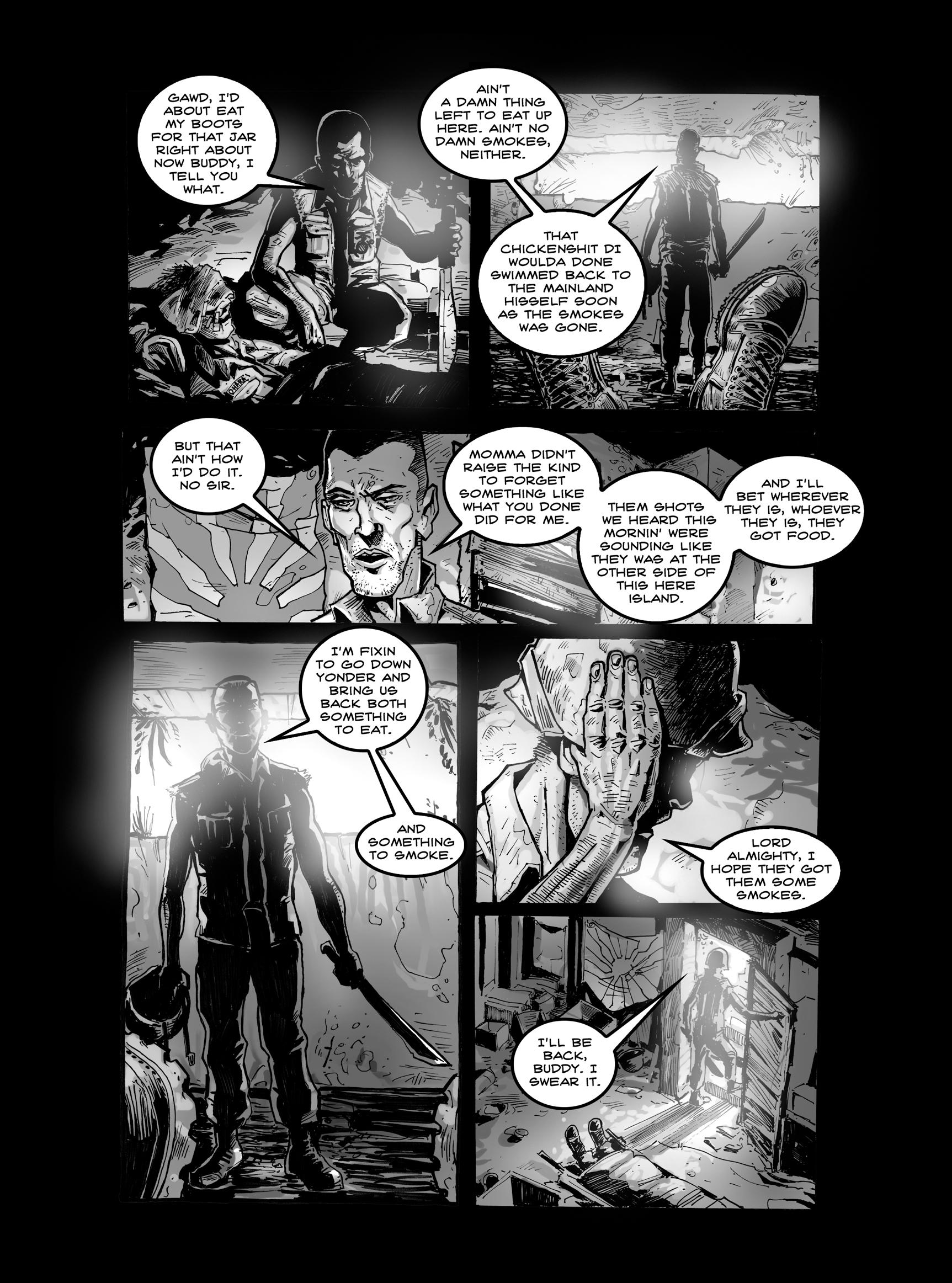Read online FUBAR comic -  Issue #2 - 17