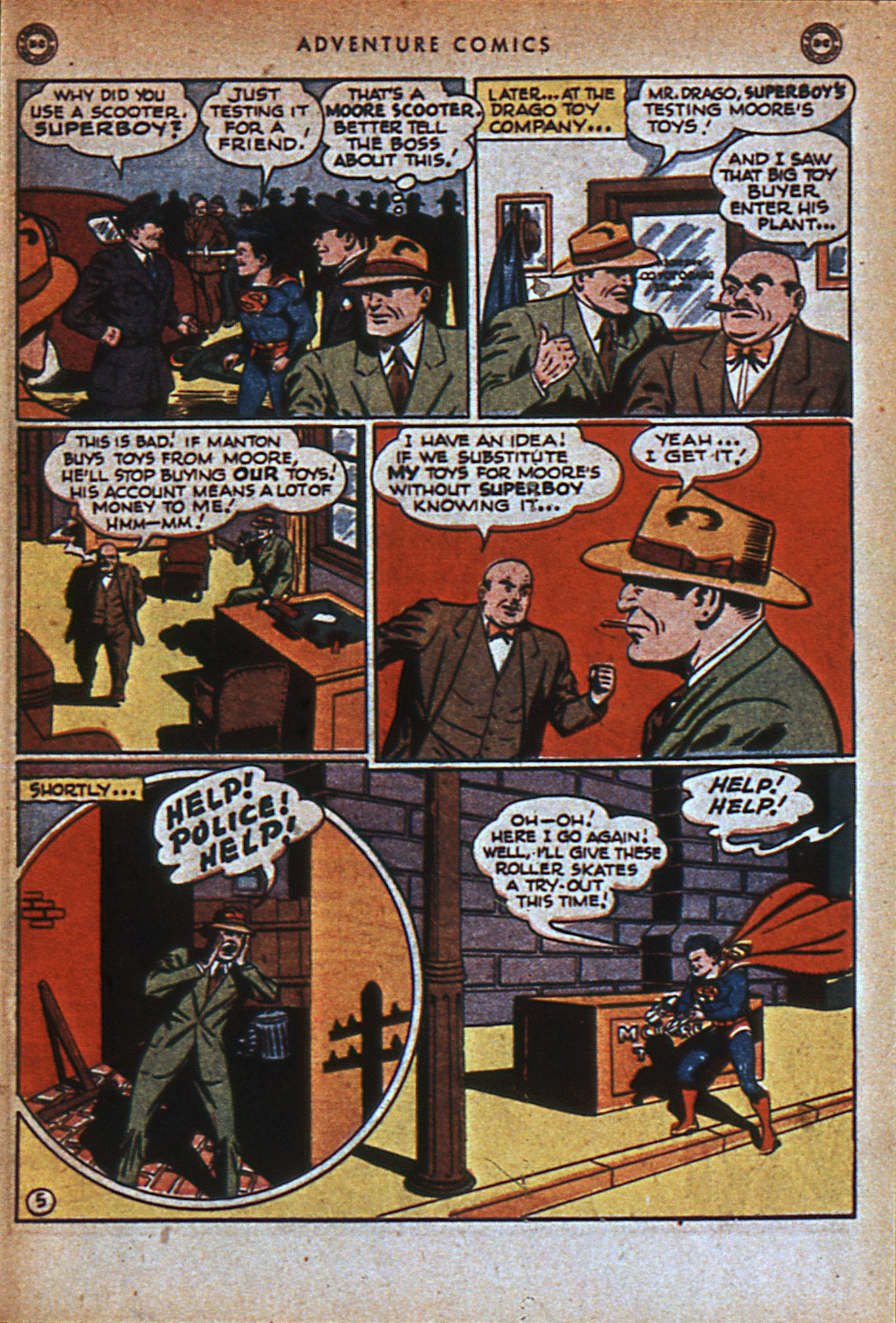 Read online Adventure Comics (1938) comic -  Issue #116 - 8