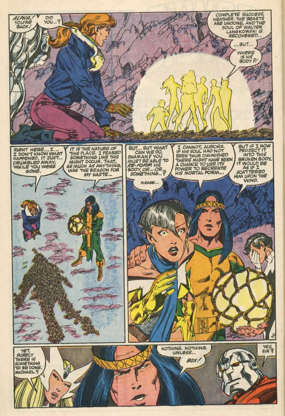 Read online Alpha Flight (1983) comic -  Issue #24 - 33