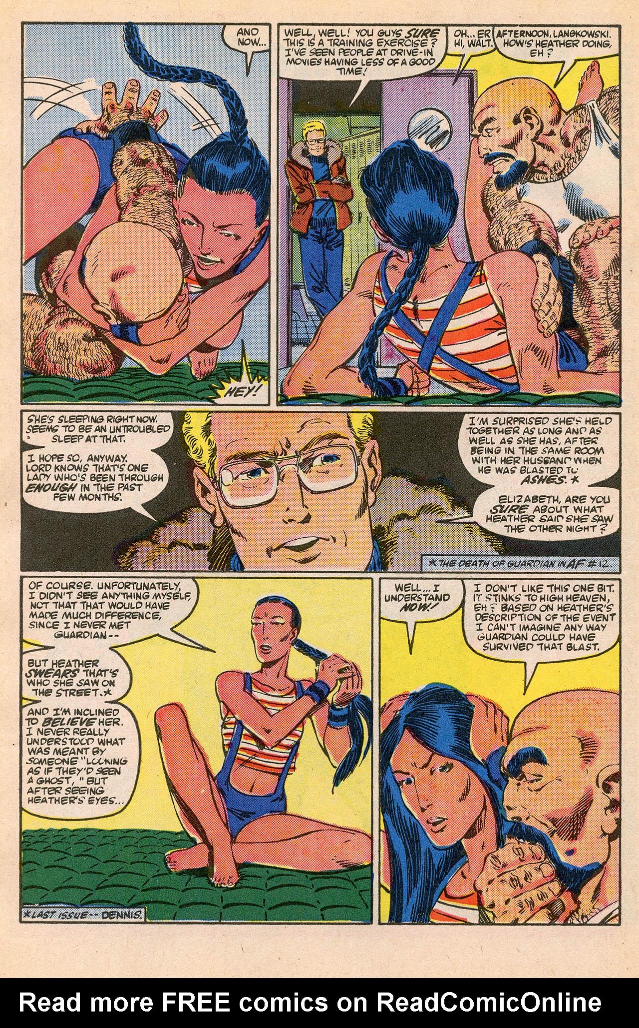 Read online Alpha Flight (1983) comic -  Issue #23 - 10