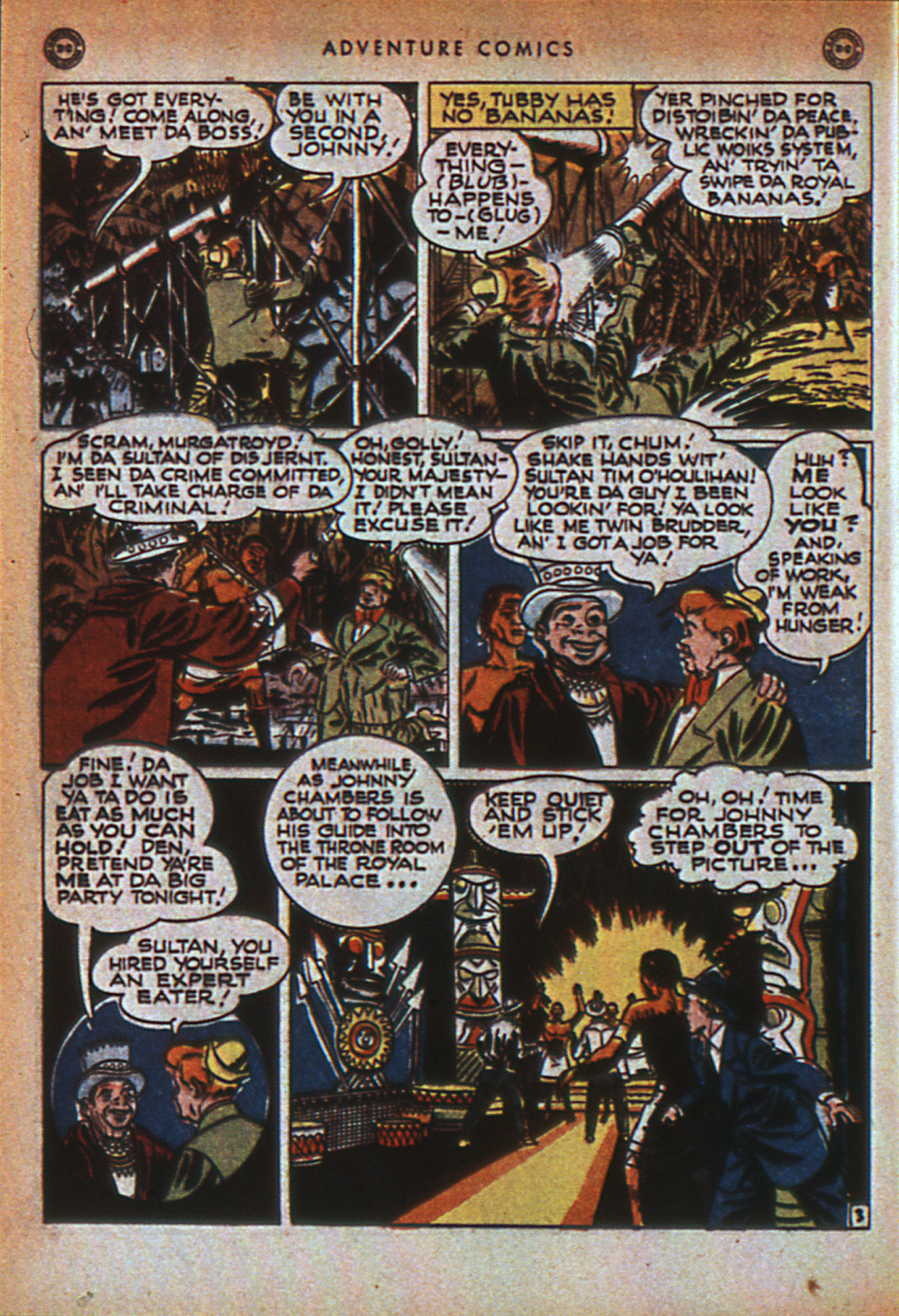 Read online Adventure Comics (1938) comic -  Issue #116 - 43