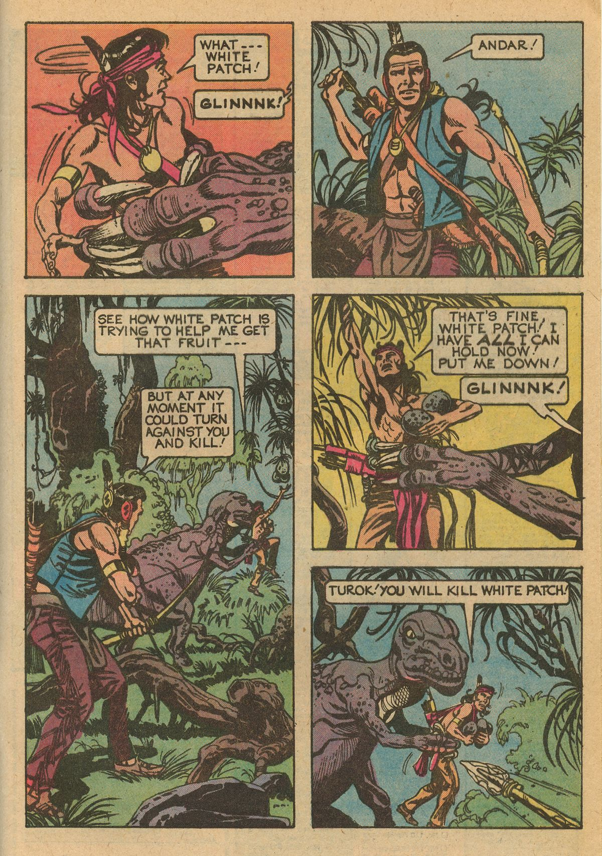 Read online Turok, Son of Stone comic -  Issue #115 - 45