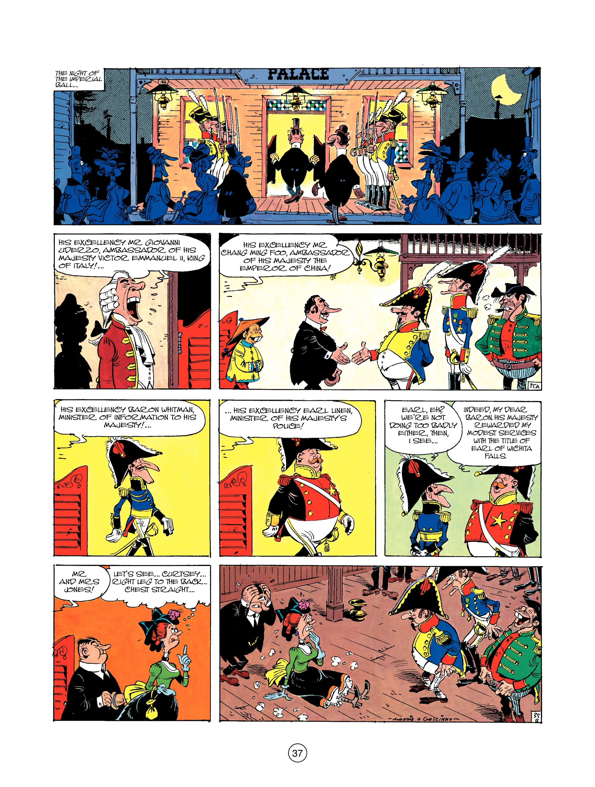 Read online A Lucky Luke Adventure comic -  Issue #22 - 37