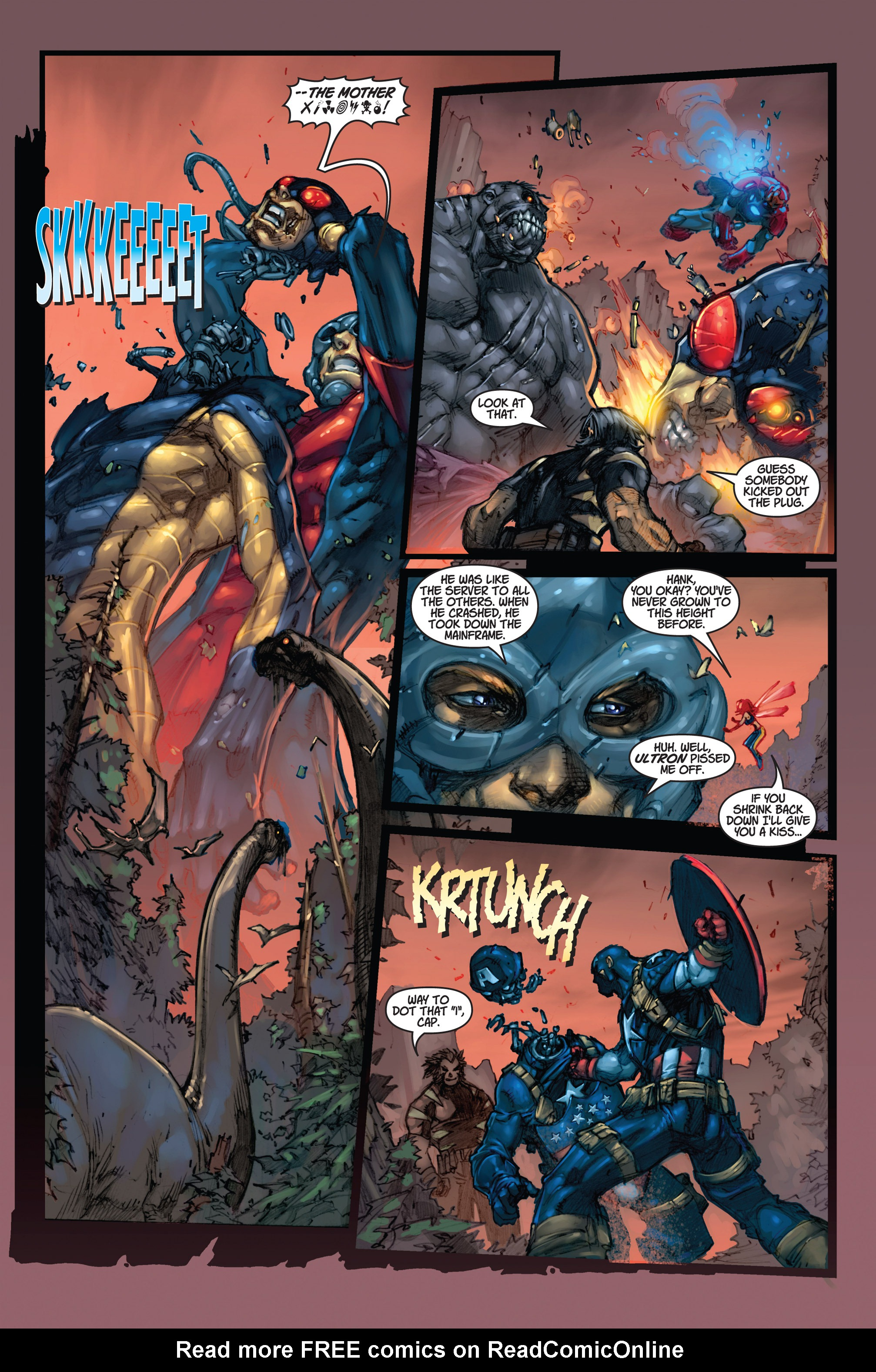 Read online Ultimates 3 comic -  Issue #5 - 18