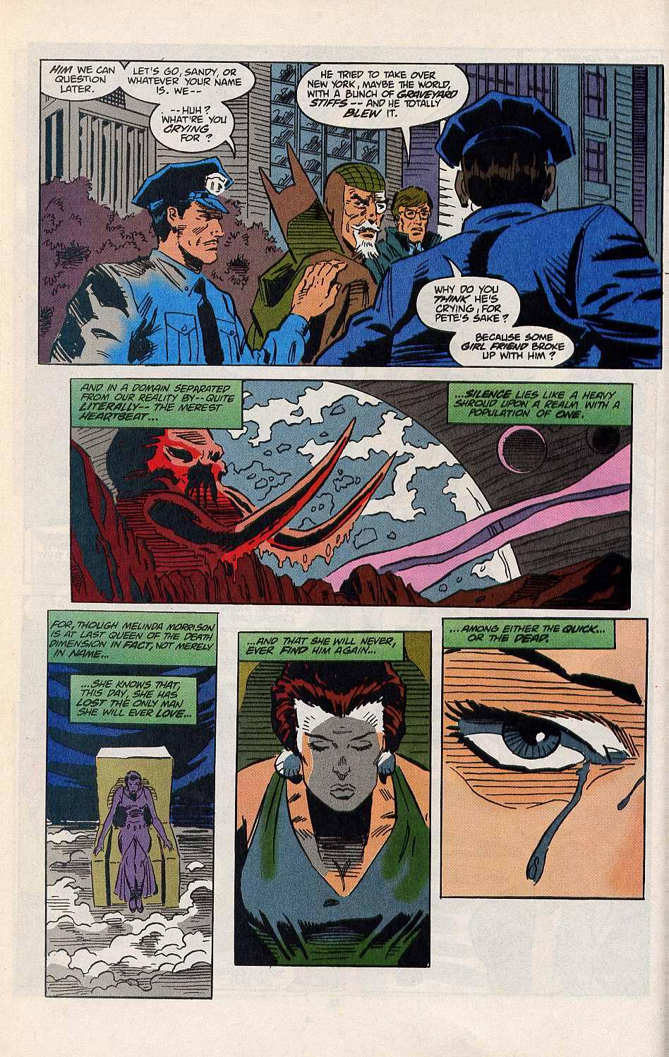 Read online Secret Defenders comic -  Issue #8 - 23