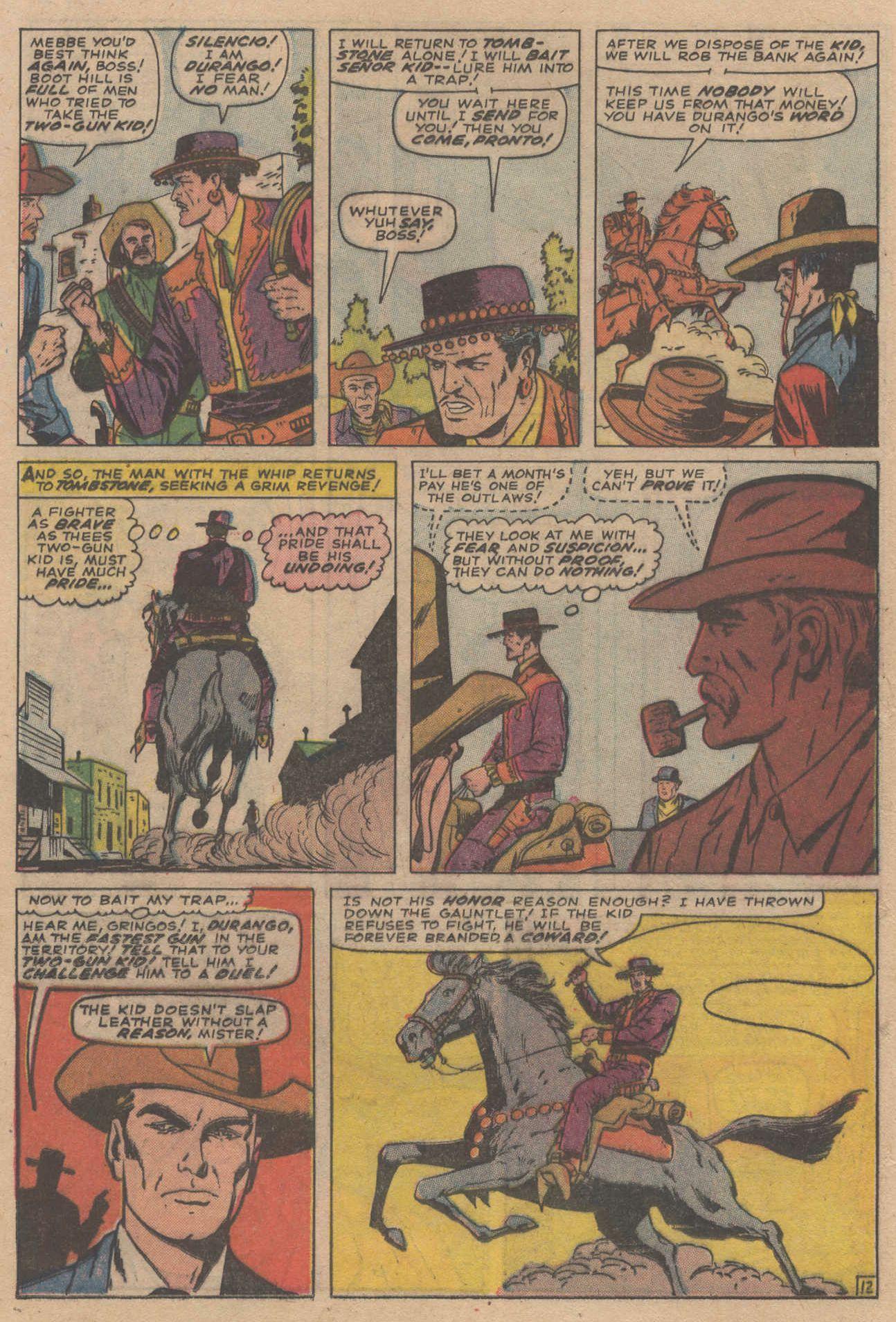 Read online Two-Gun Kid comic -  Issue #83 - 16