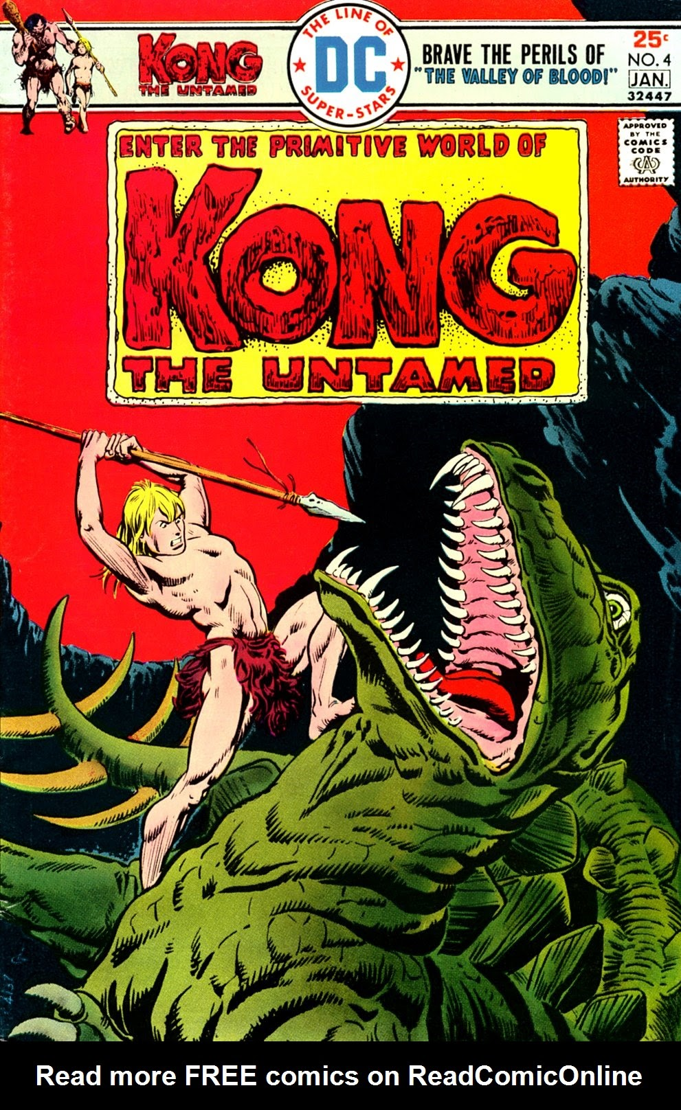 Kong the Untamed 4 Page 1