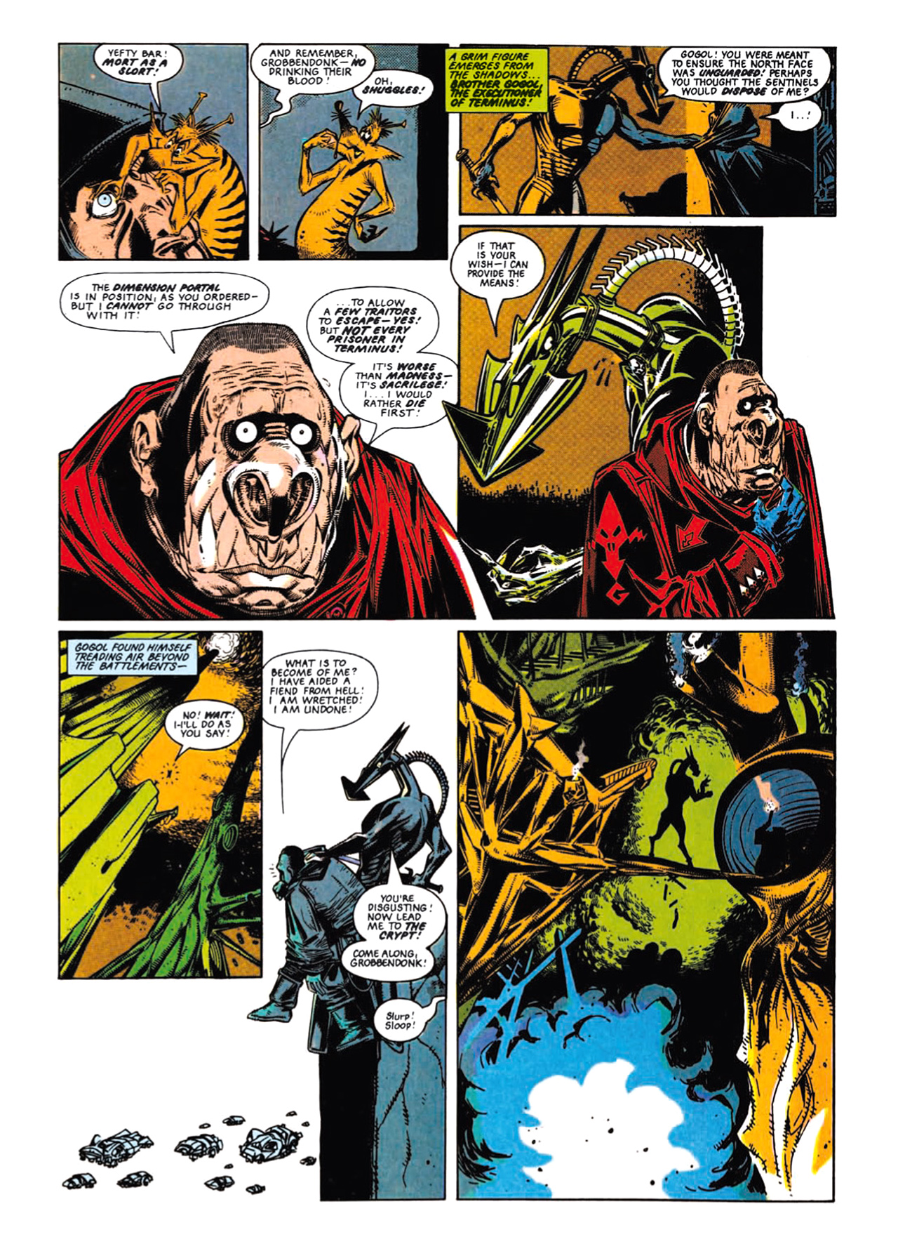 Read online Nemesis The Warlock comic -  Issue # TPB Deviant Edition - 53