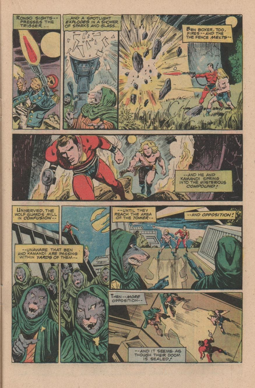 Kamandi, The Last Boy On Earth issue 47 - Page 15