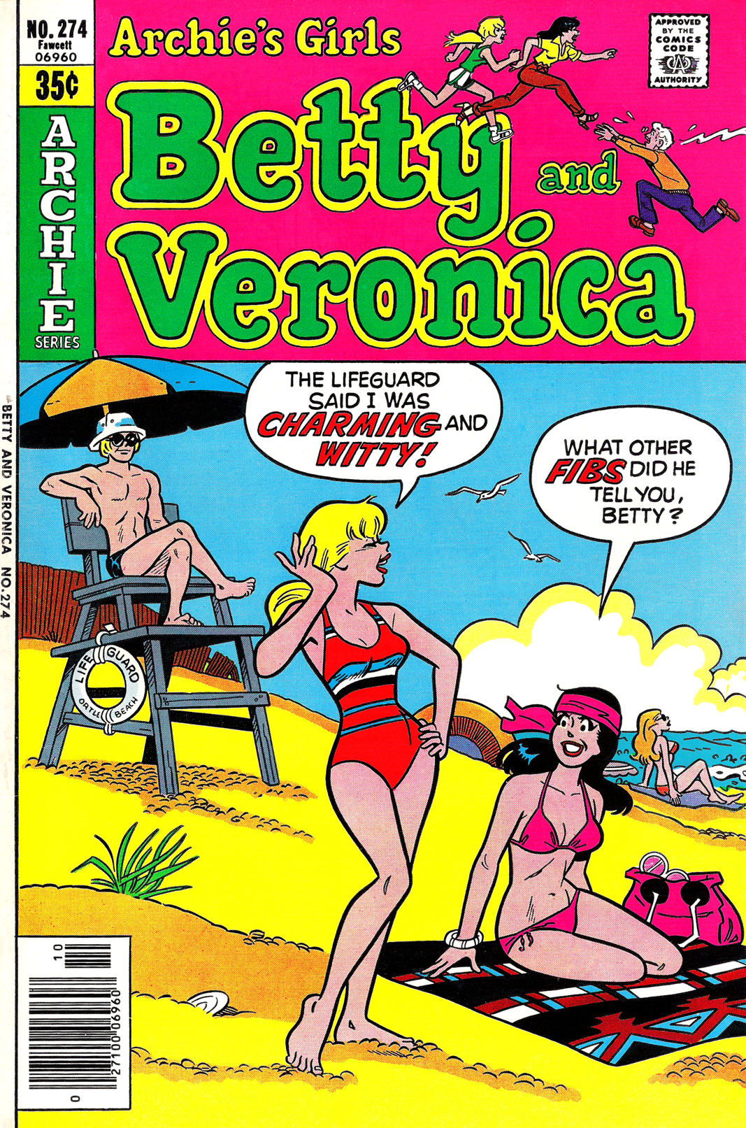Read online Archie's Girls Betty and Veronica comic -  Issue #274 - 1