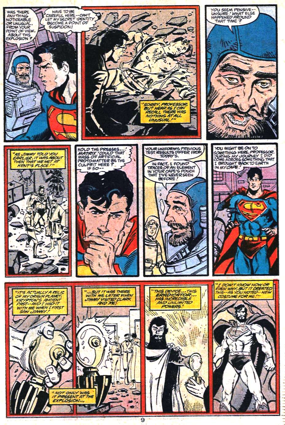 Read online Adventures of Superman (1987) comic -  Issue #459 - 10