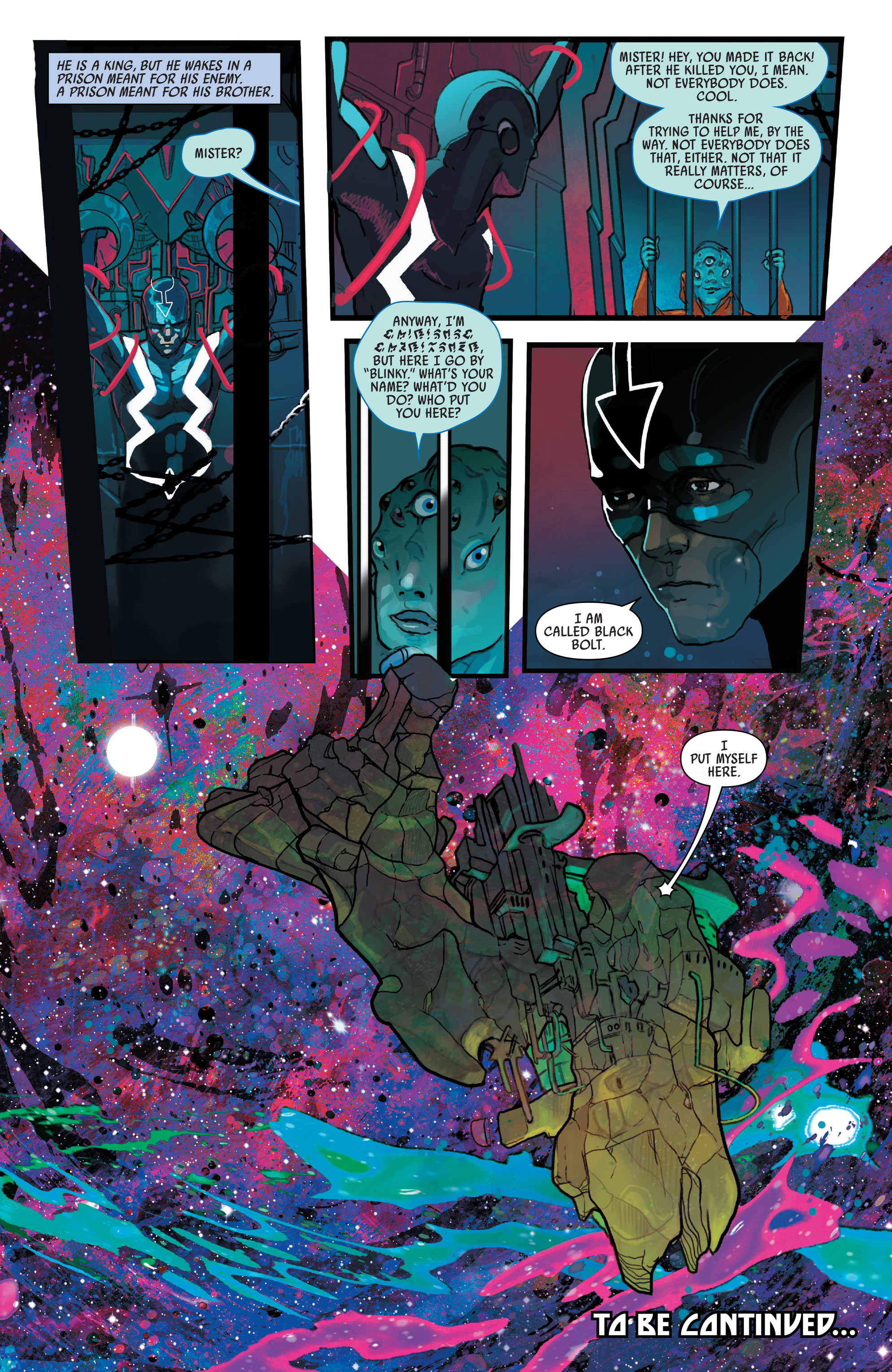 Read online Black Bolt comic -  Issue #1 - 22