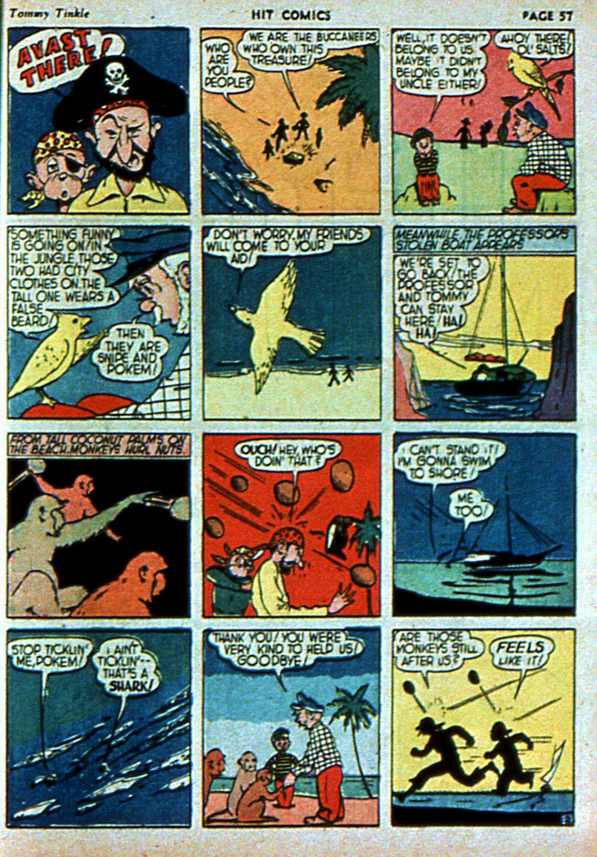 Read online Hit Comics comic -  Issue #3 - 59