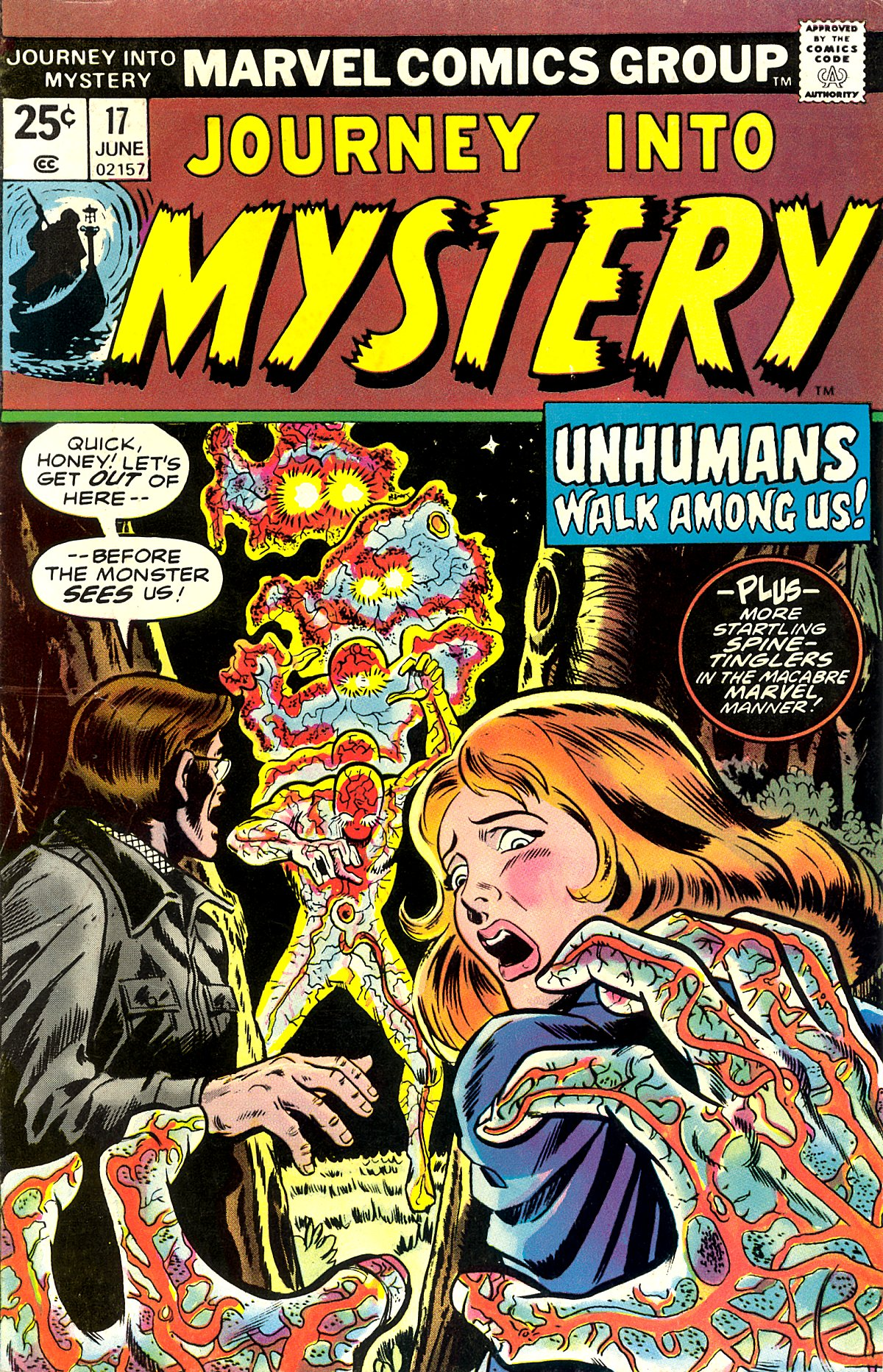 Journey Into Mystery (1972) 17 Page 1
