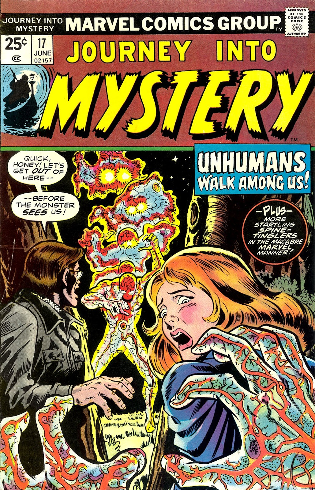 Journey Into Mystery (1972) issue 17 - Page 1