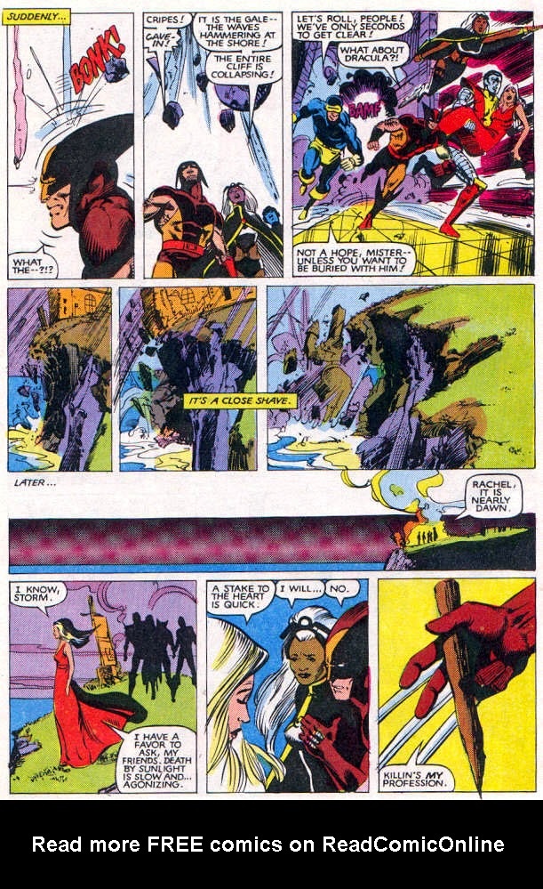 Read online Uncanny X-Men (1963) comic -  Issue # _Annual 6 - 37