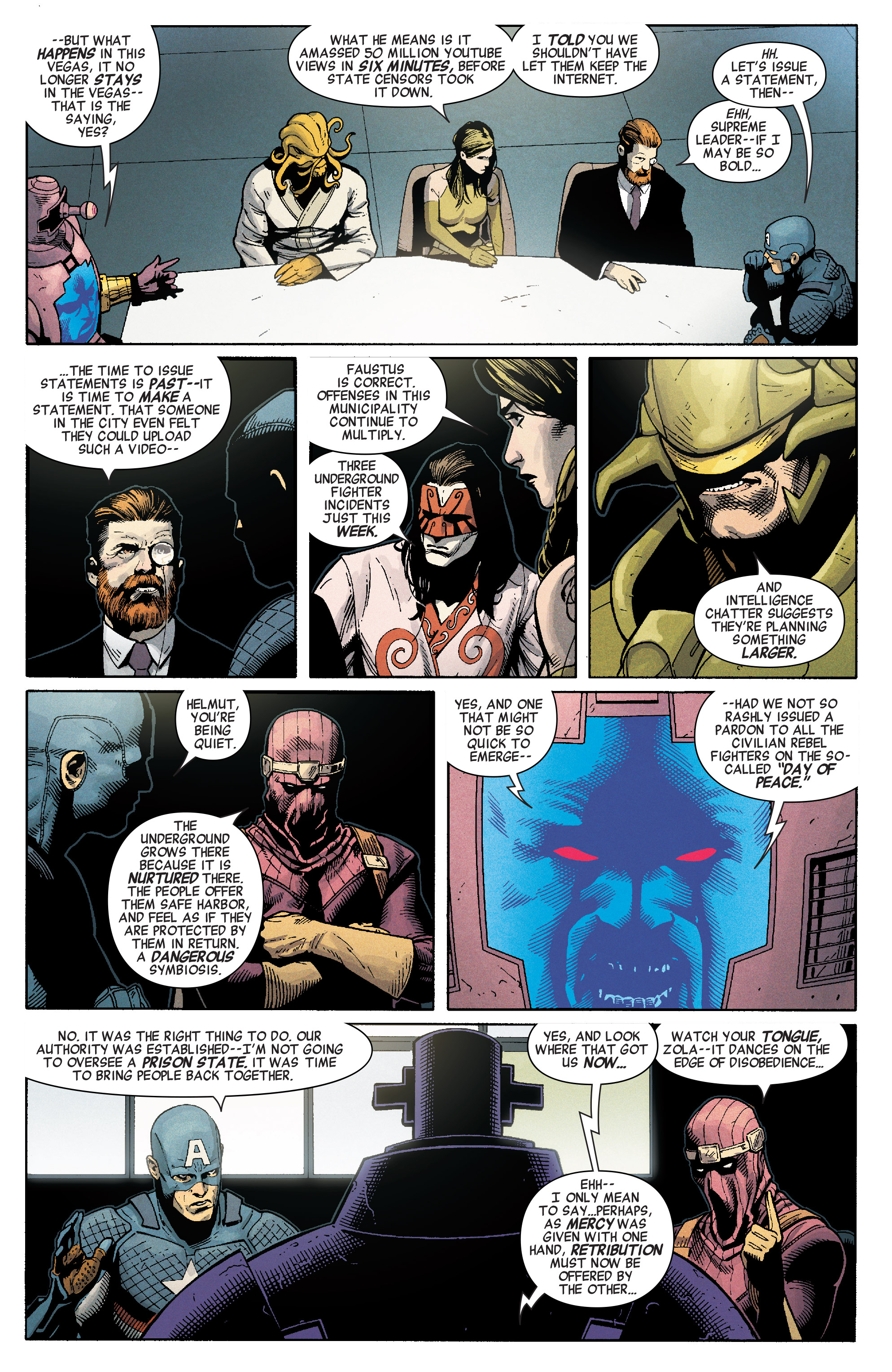 Read online Secret Empire comic -  Issue #1 - 21