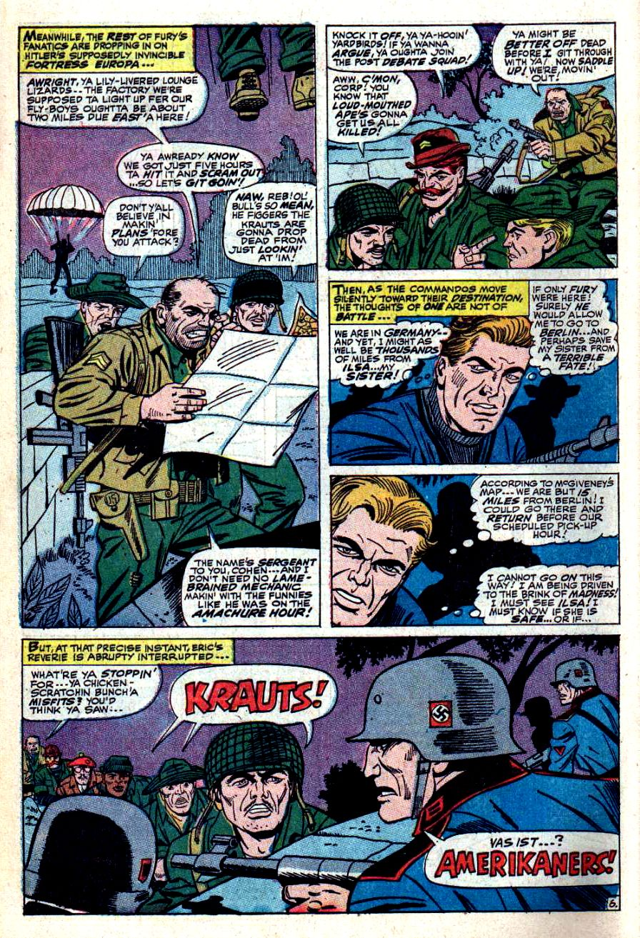Read online Sgt. Fury comic -  Issue #42 - 10