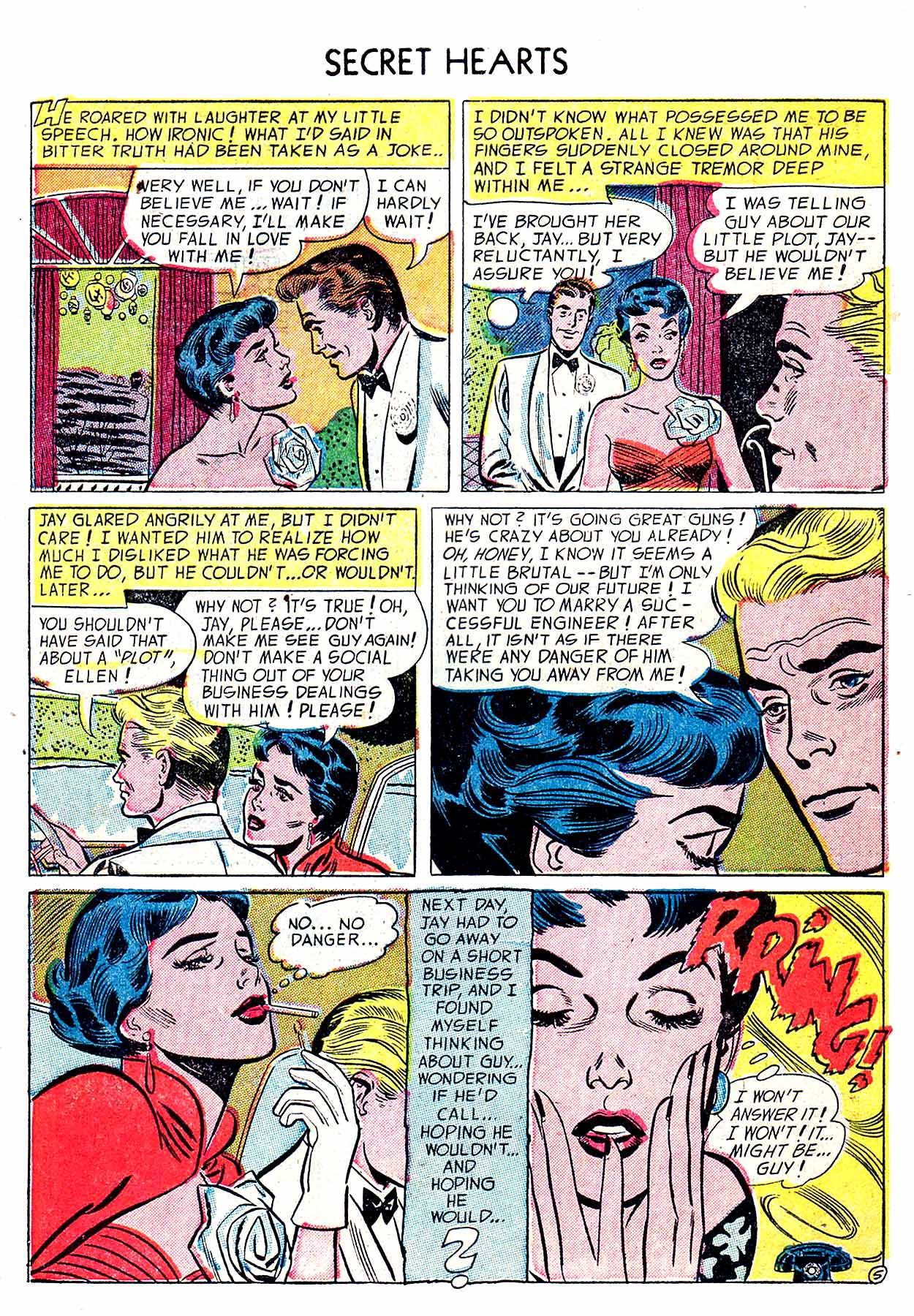 Read online Secret Hearts comic -  Issue #19 - 7