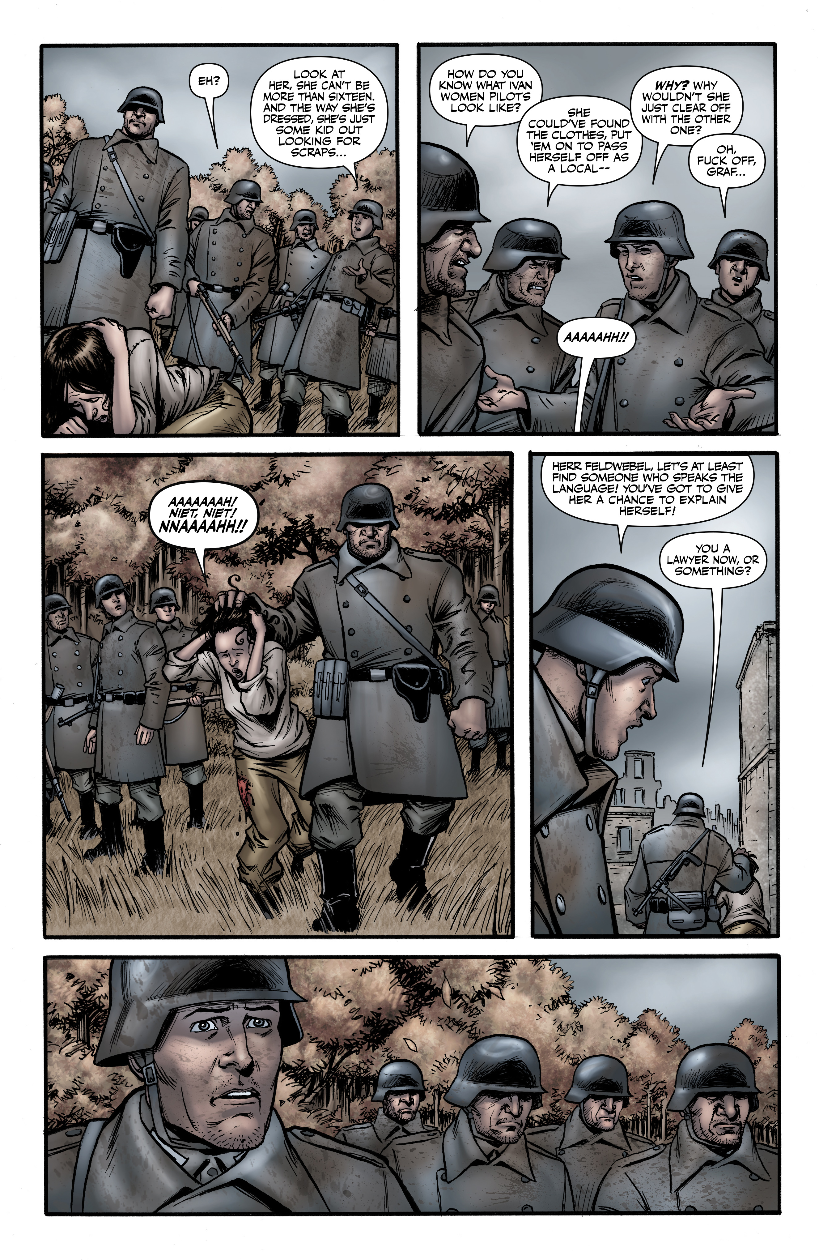Read online Battlefields: Night Witches comic -  Issue # TPB - 41