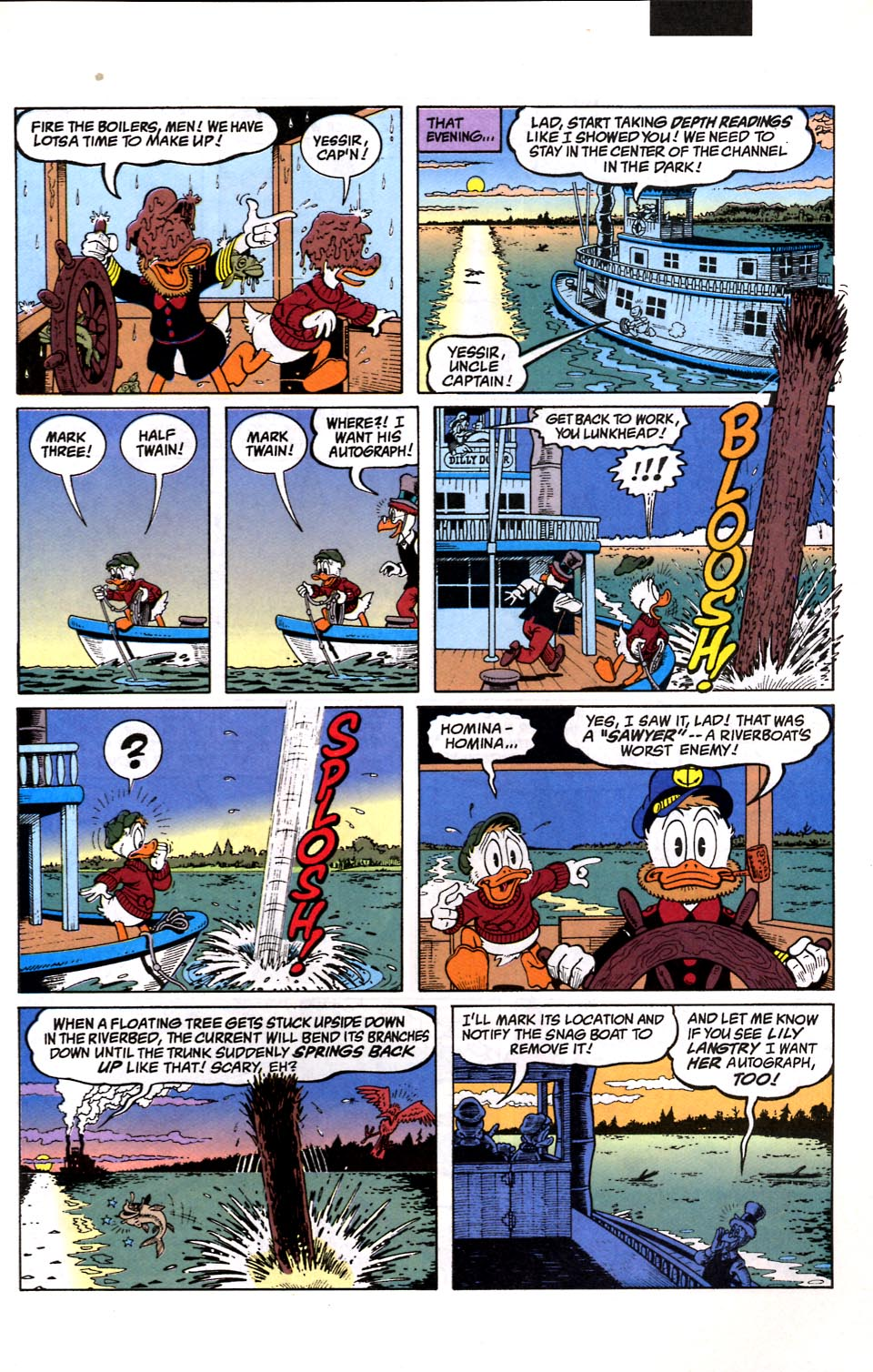 Read online Uncle Scrooge (1953) comic -  Issue #286 - 10