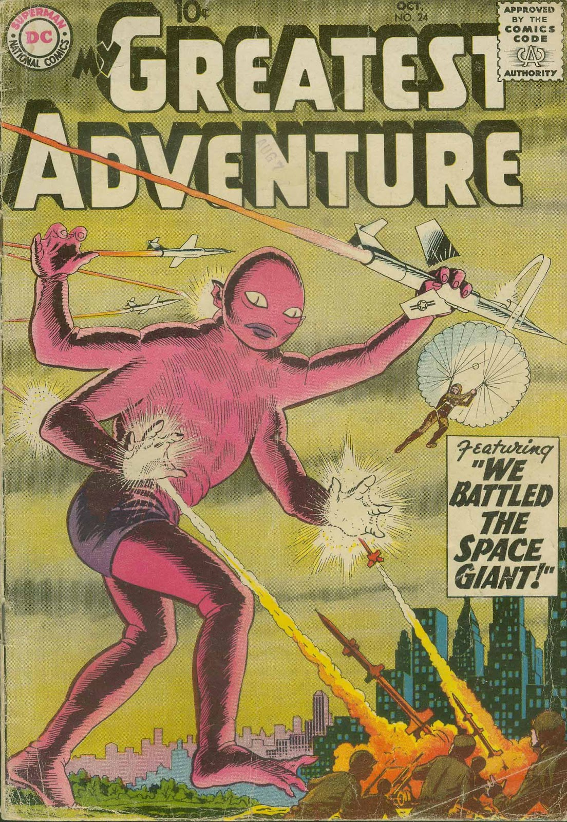 My Greatest Adventure (1955) issue 24 - Page 1
