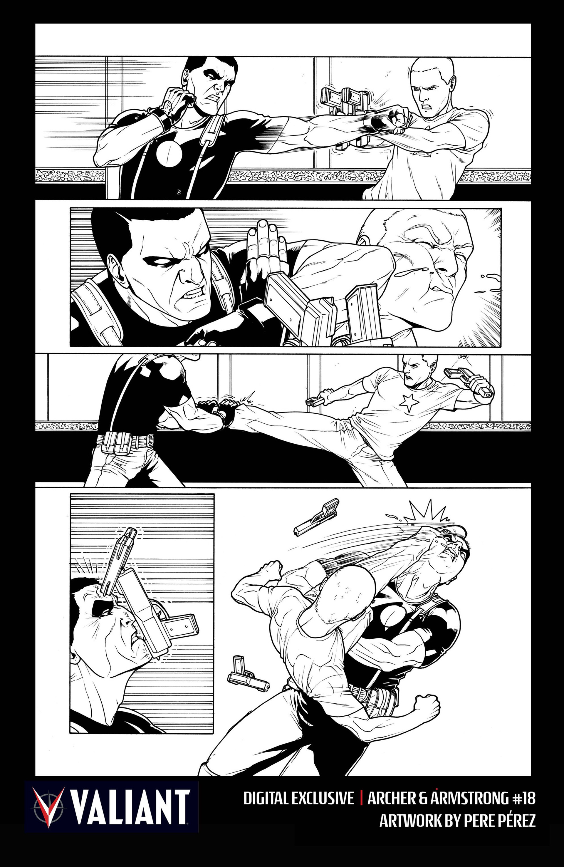 Archer and Armstrong 18 Page 31
