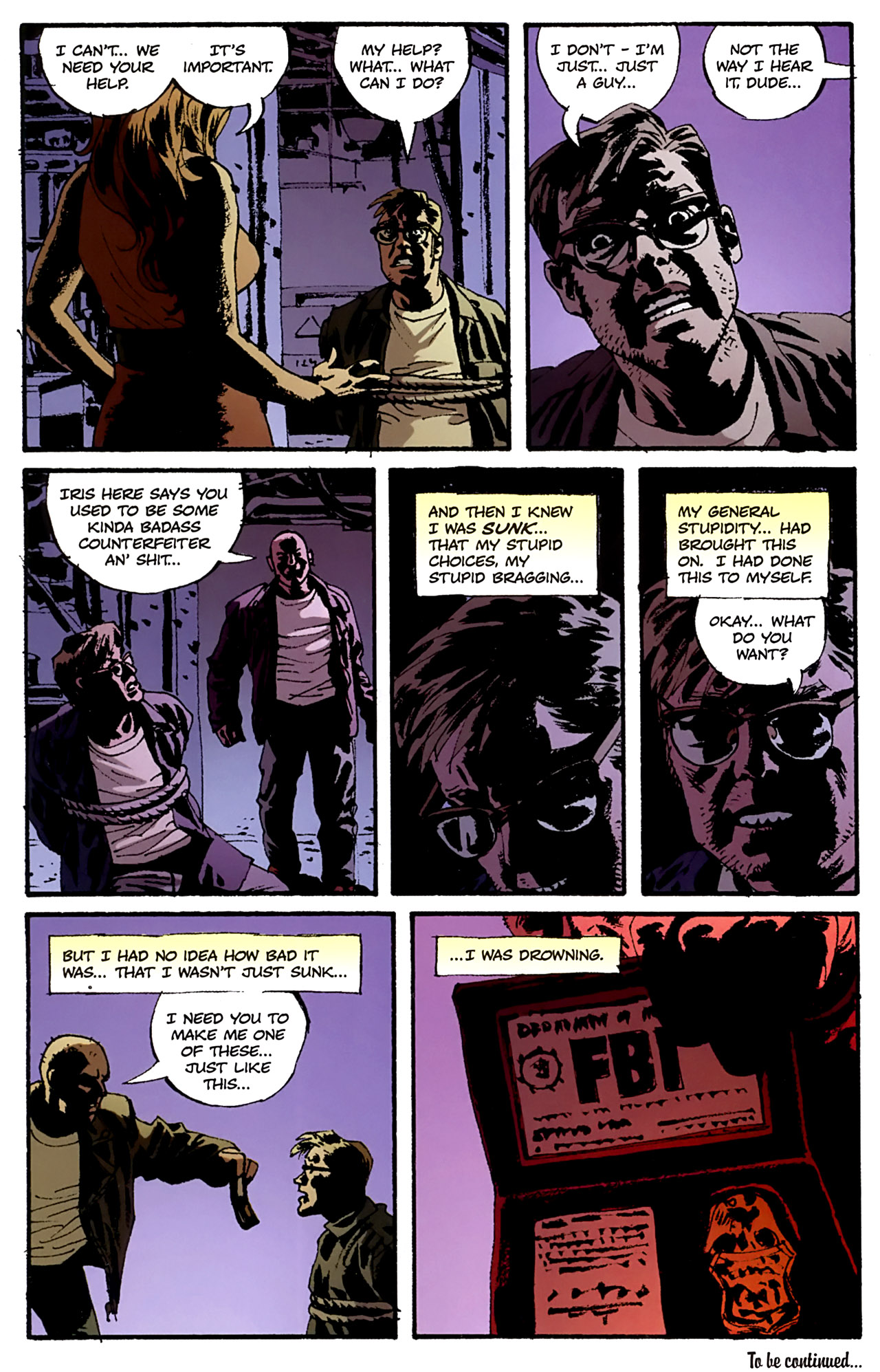 Read online Criminal (2008) comic -  Issue #4 - 28
