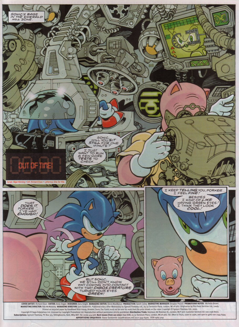 Read online Sonic the Comic comic -  Issue #179 - 2