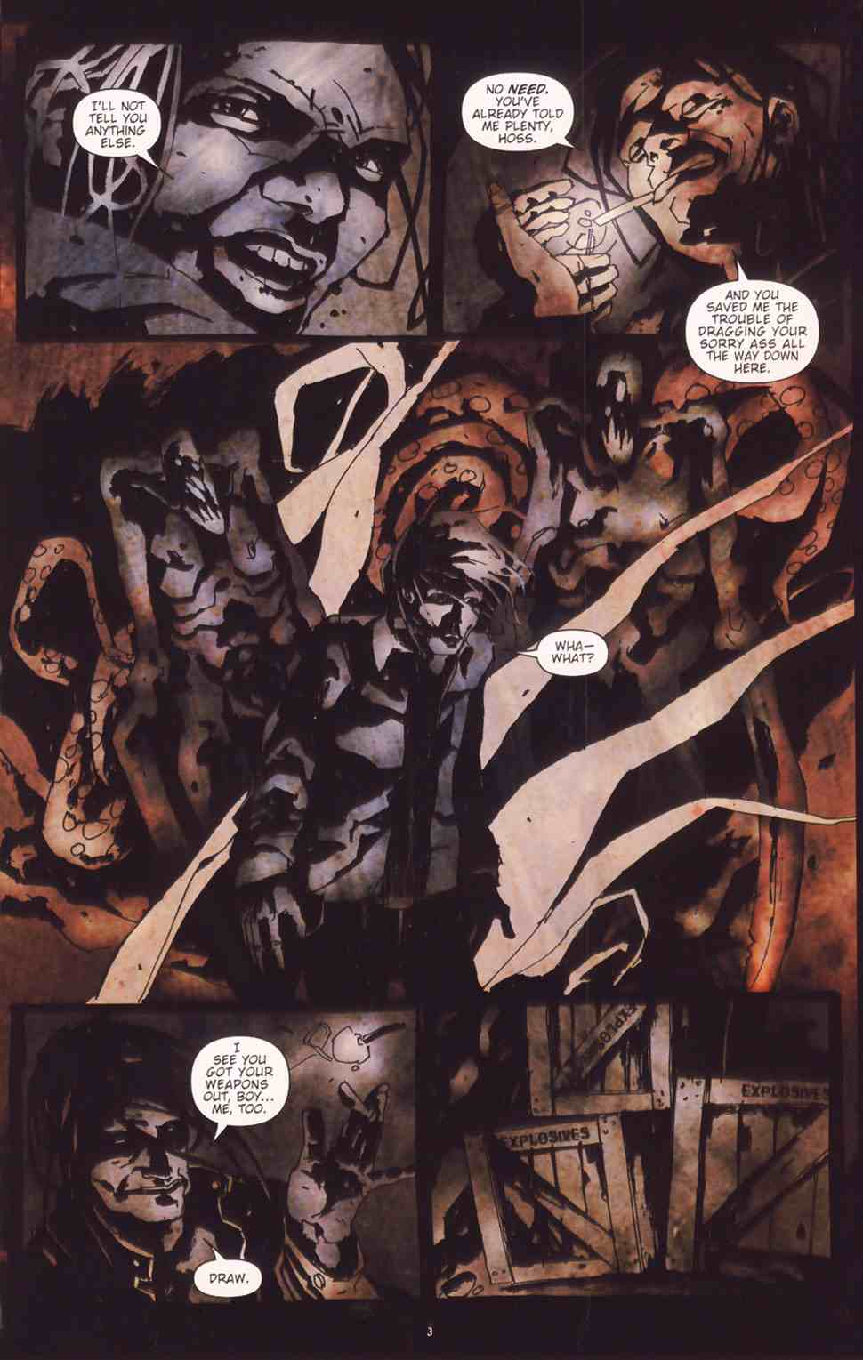 Read online Silent Hill: The Grinning Man comic -  Issue # Full - 5