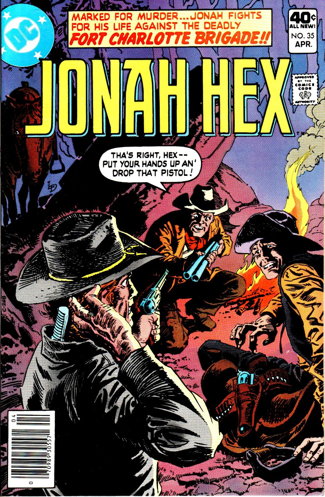 Jonah Hex (1977) 35 Page 1
