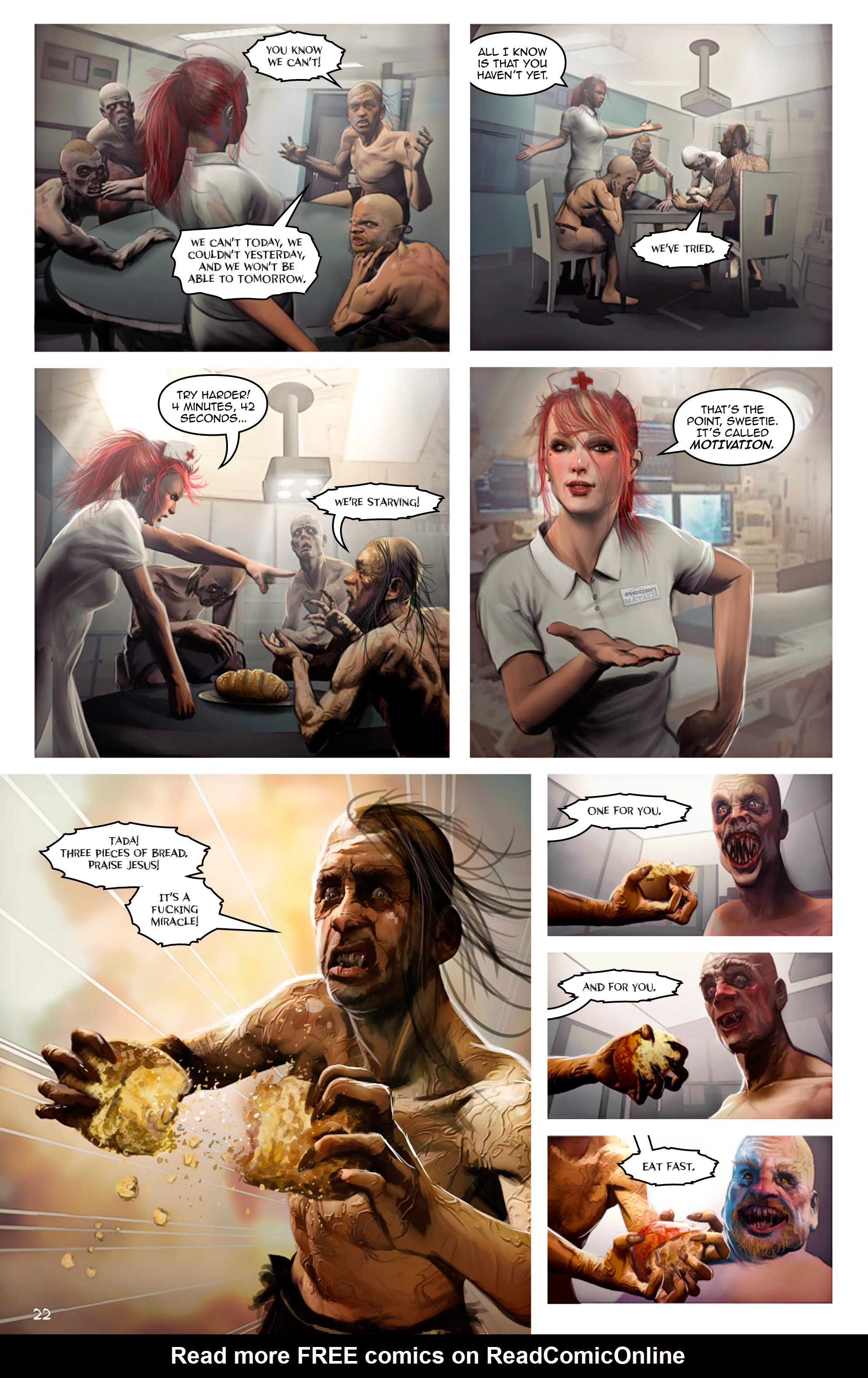 Read online Escape from Jesus Island comic -  Issue #2 - 22
