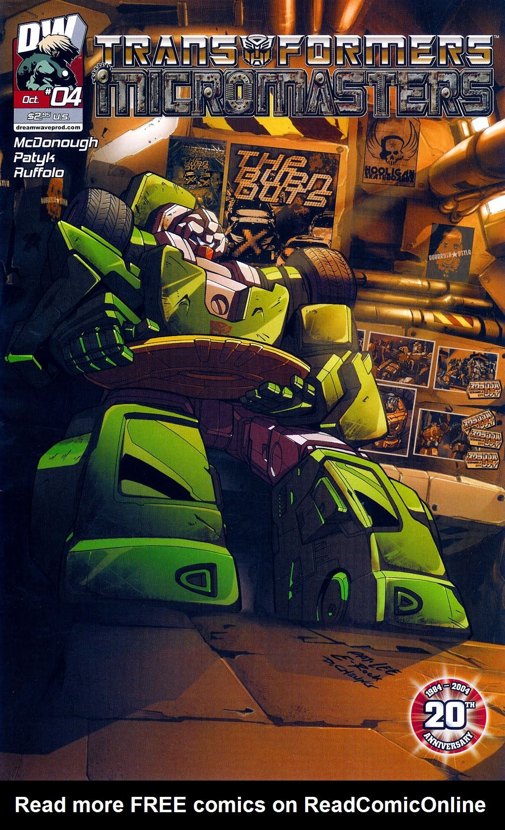 Read online Transformers: Micromasters comic -  Issue #4 - 1