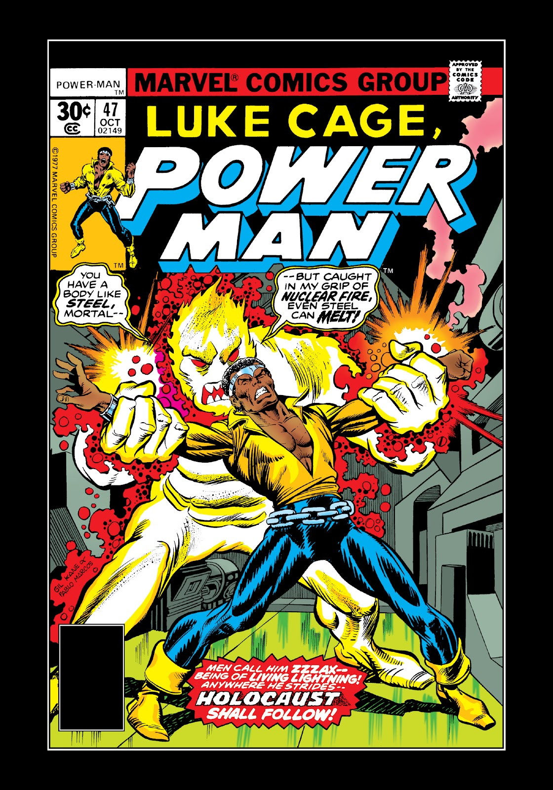 Read online Marvel Masterworks: Luke Cage, Power Man comic -  Issue # TPB 3 (Part 3) - 100