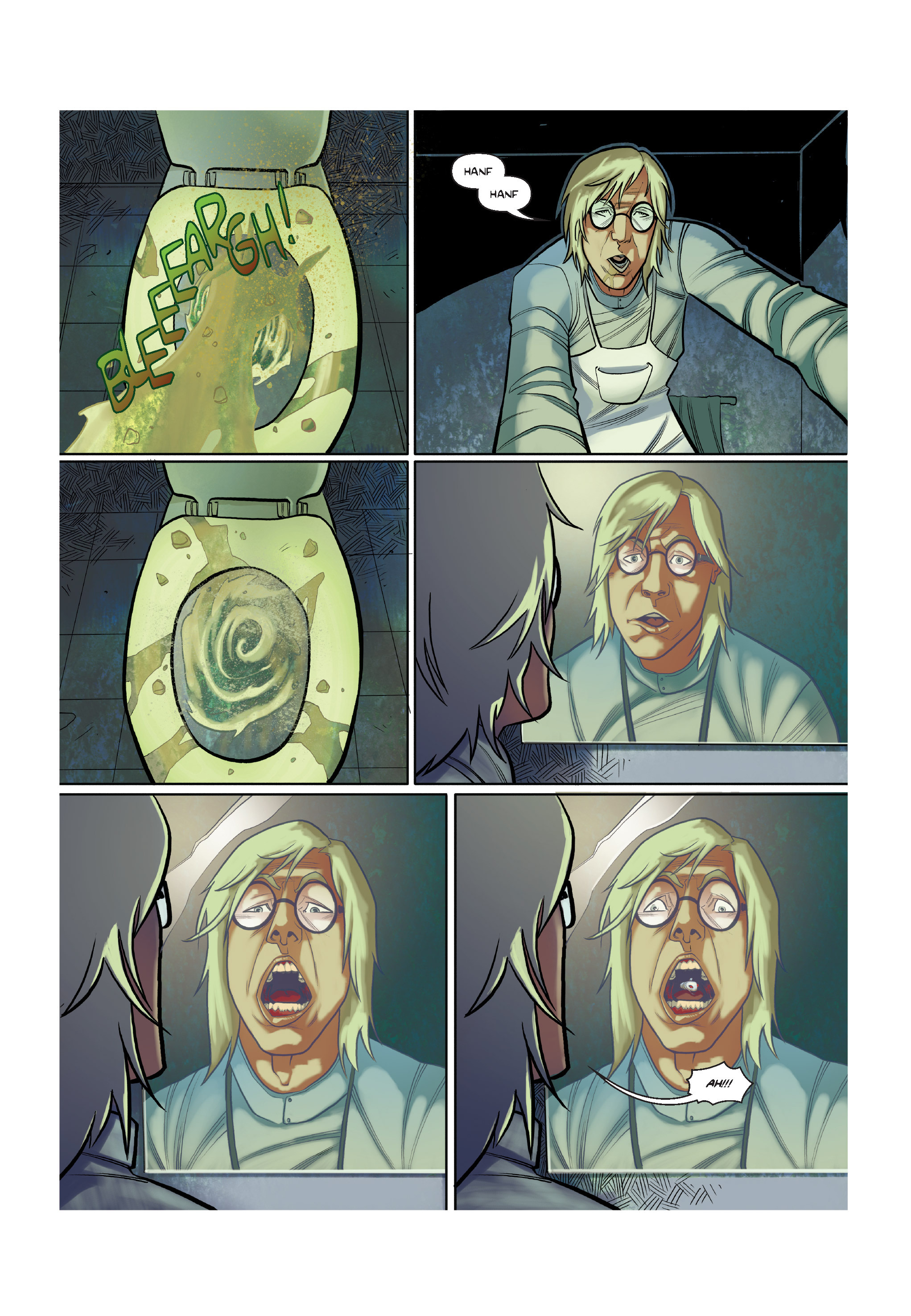 Read online The Shadow of a Terrible Thing comic -  Issue # TPB - 49