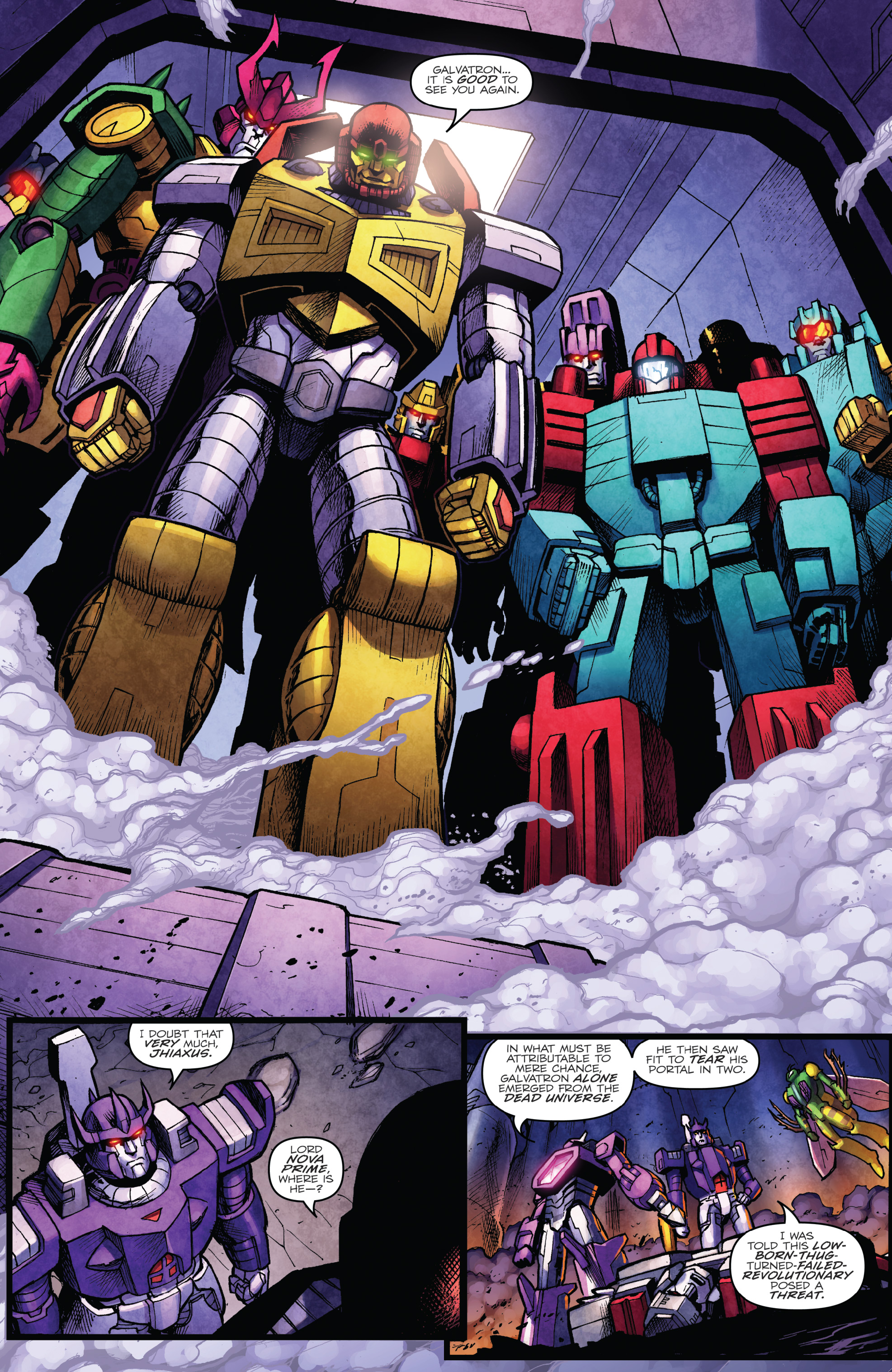 Read online The Transformers: Dark Cybertron Finale comic -  Issue # Full - 15