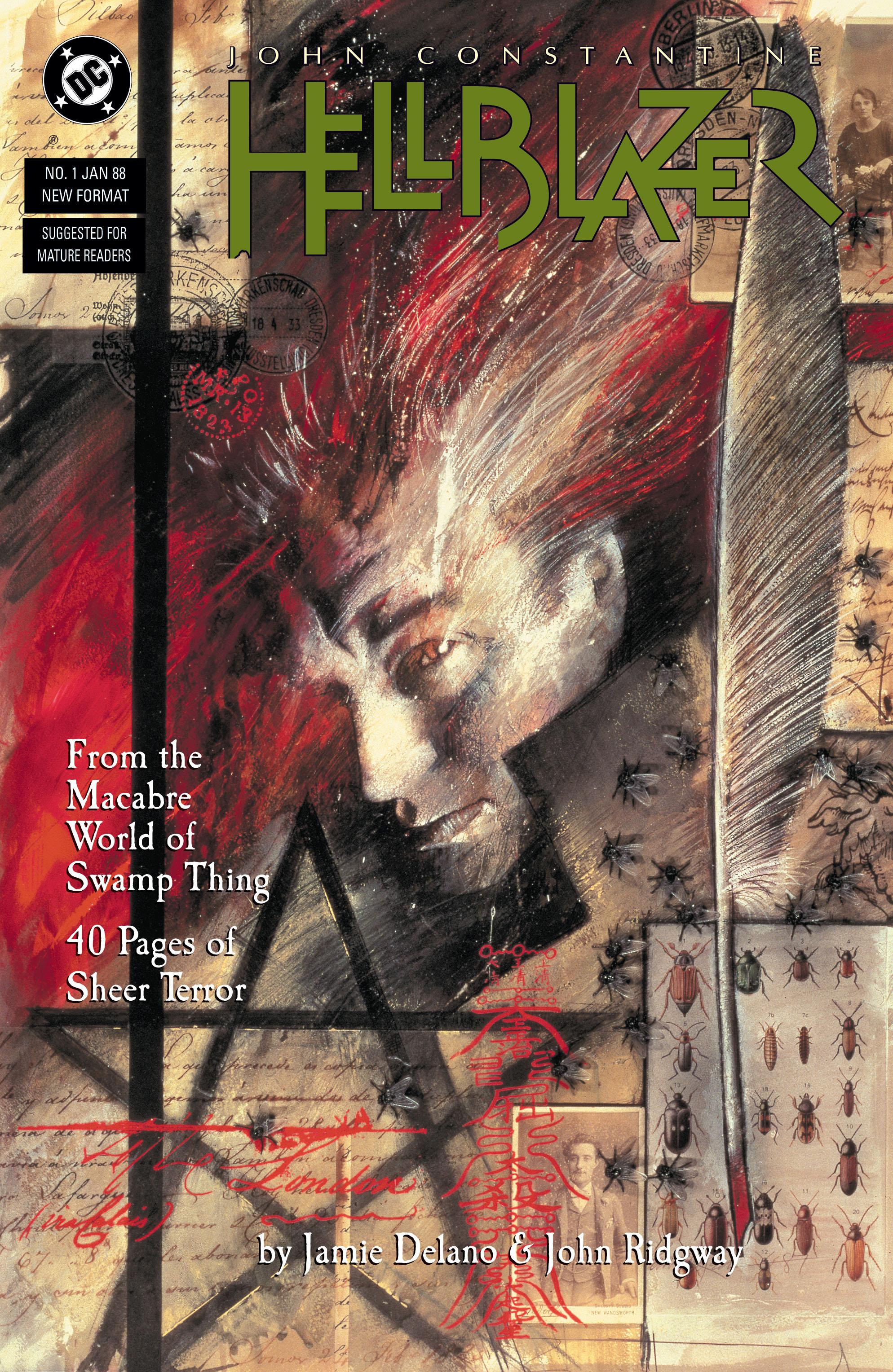 Hellblazer issue 1 - Page 1