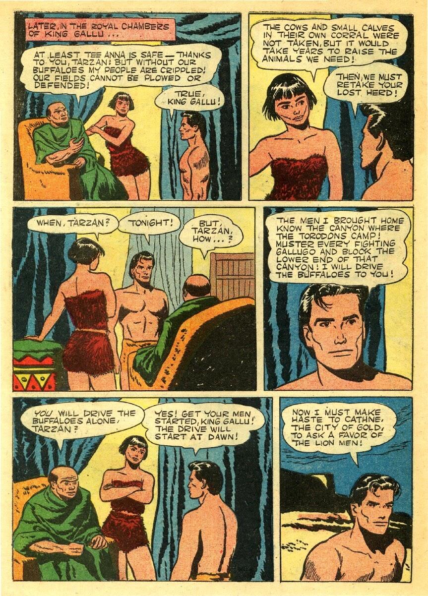 Tarzan (1948) issue 56 - Page 38