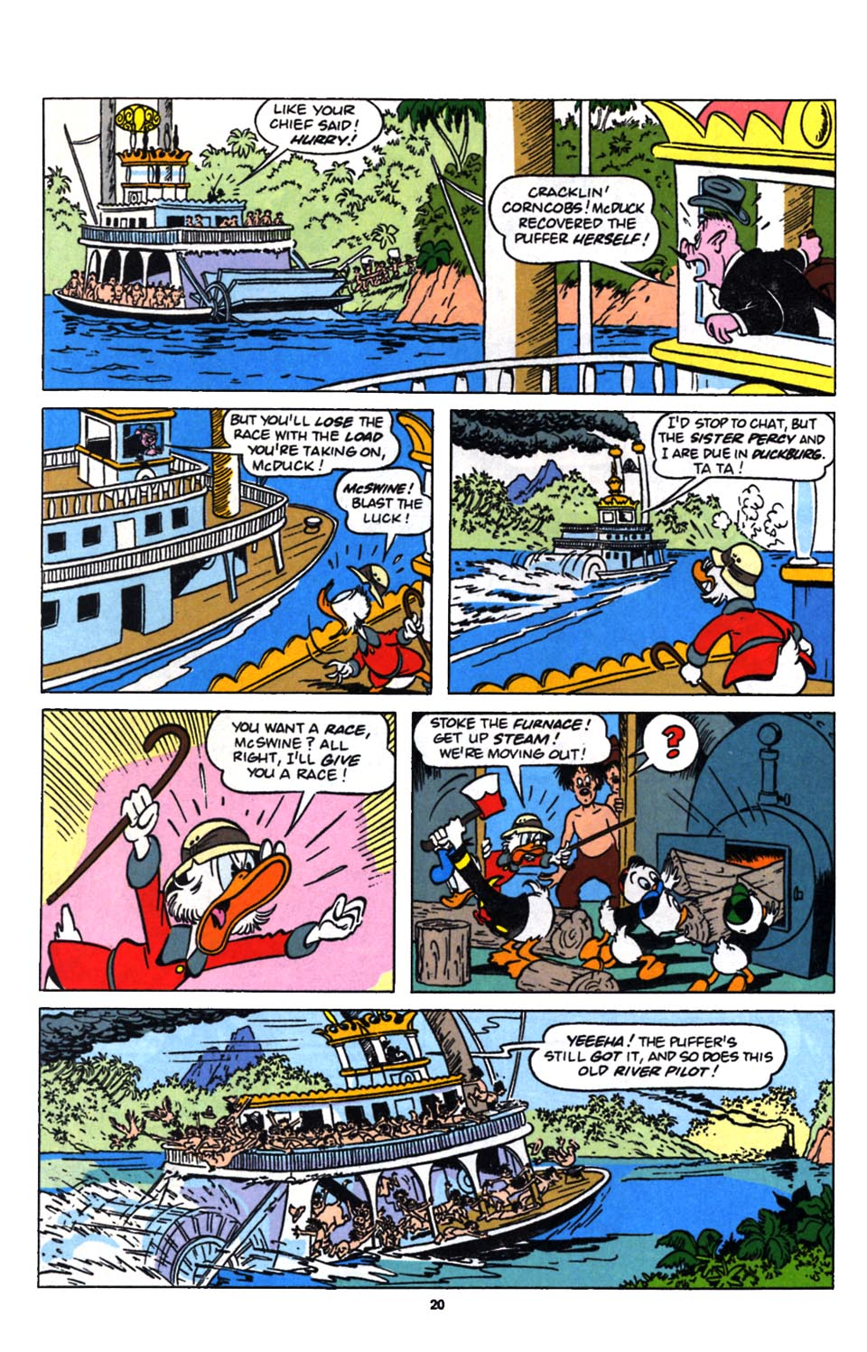 Read online Uncle Scrooge (1953) comic -  Issue #249 - 22