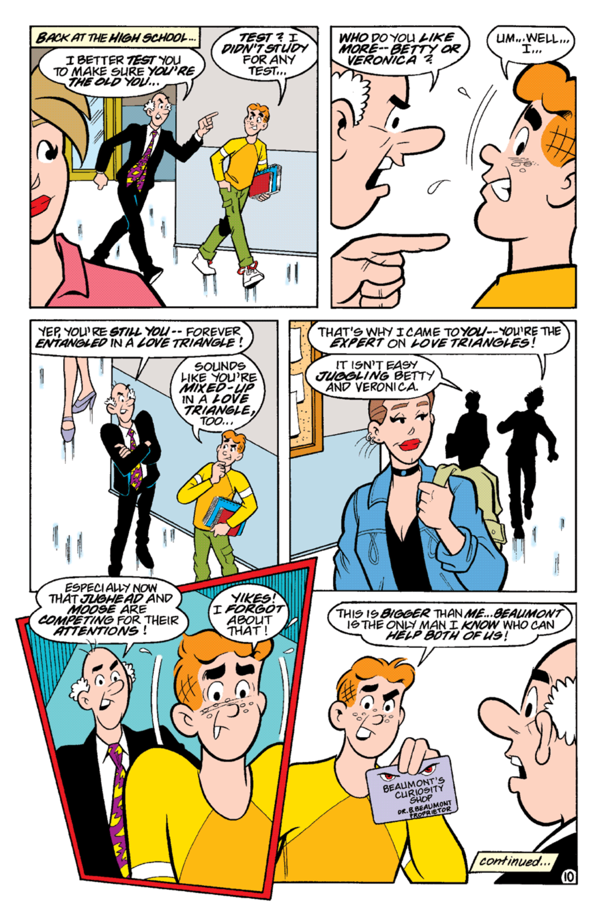 Read online Archie's Weird Mysteries comic -  Issue #19 - 12