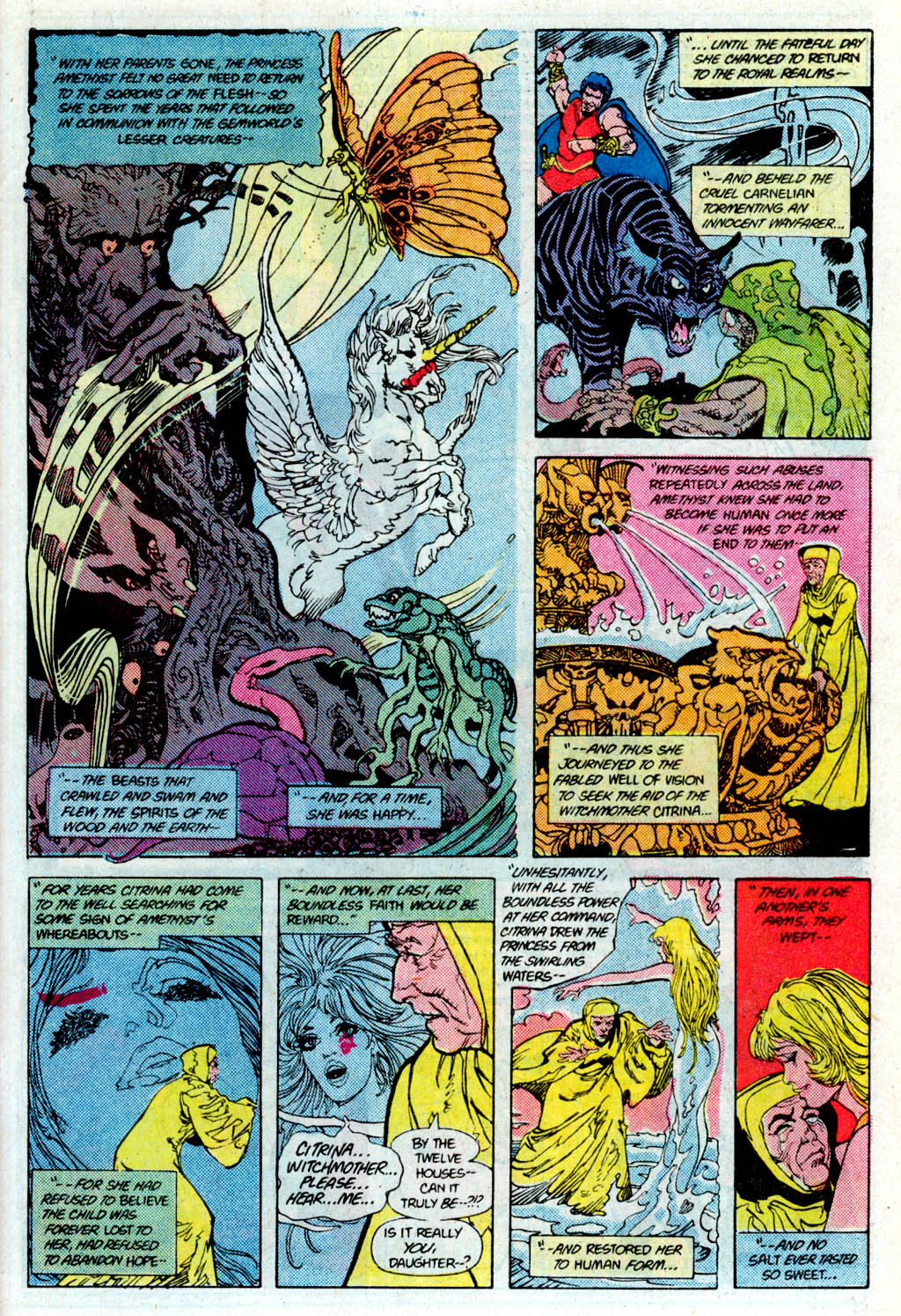 Read online Amethyst (1985) comic -  Issue # _Special 1 - 35