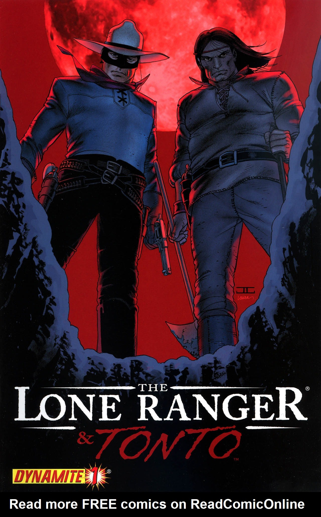 The Lone Ranger & Tonto issue 1 - Page 1