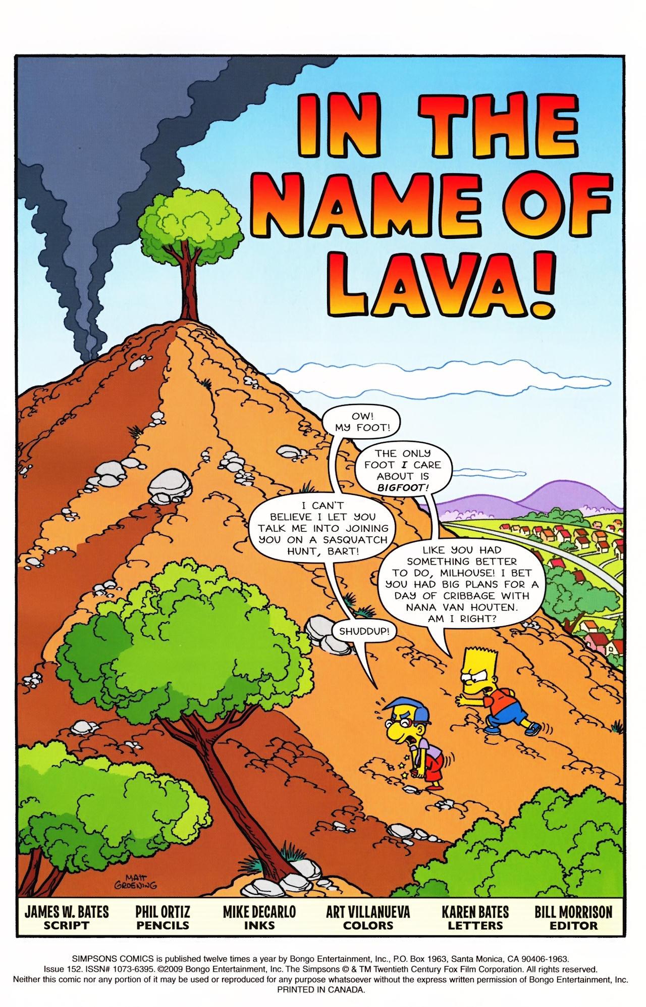 Read online Simpsons Comics comic -  Issue #152 - 2