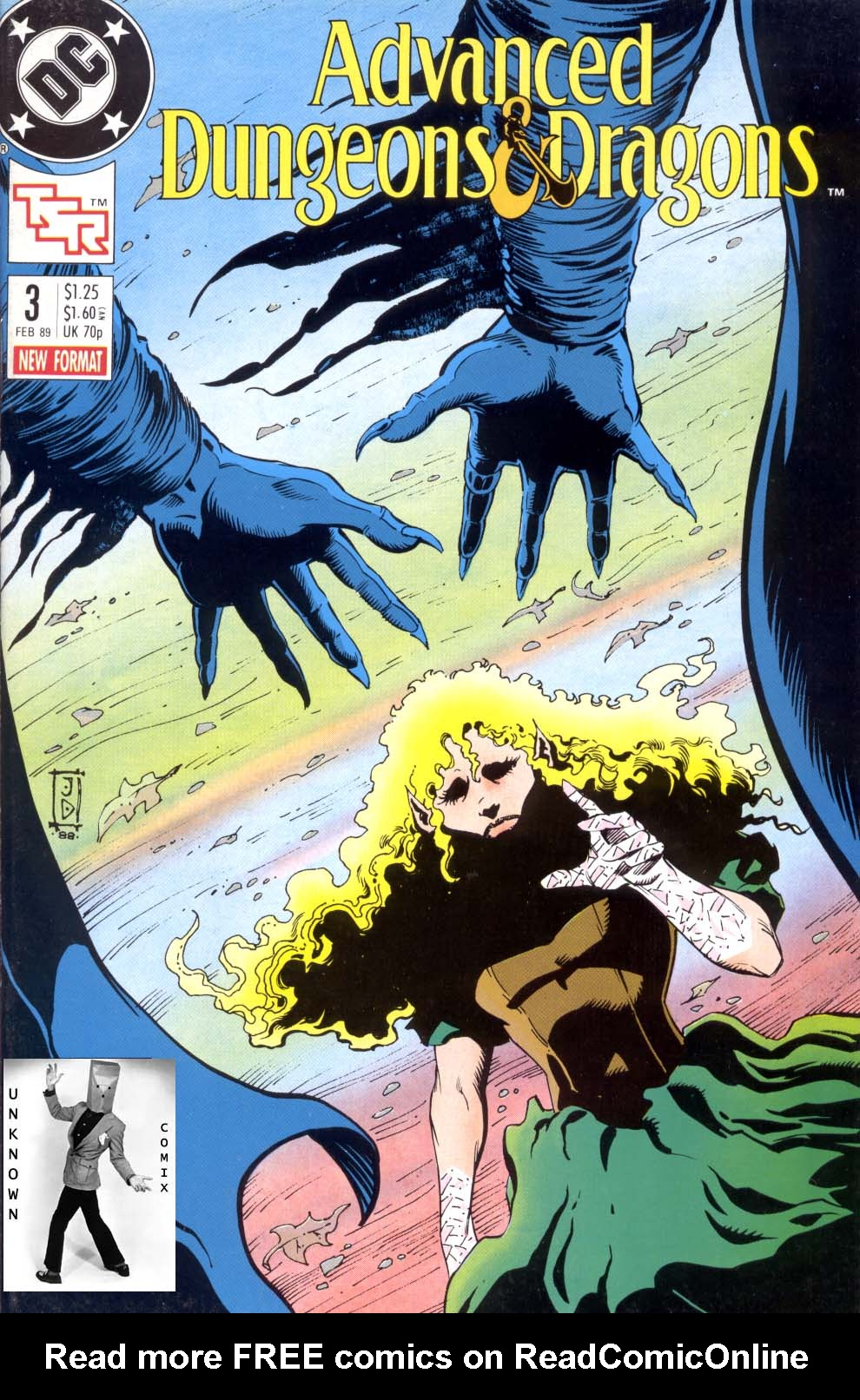 Read online Advanced Dungeons & Dragons comic -  Issue #3 - 1
