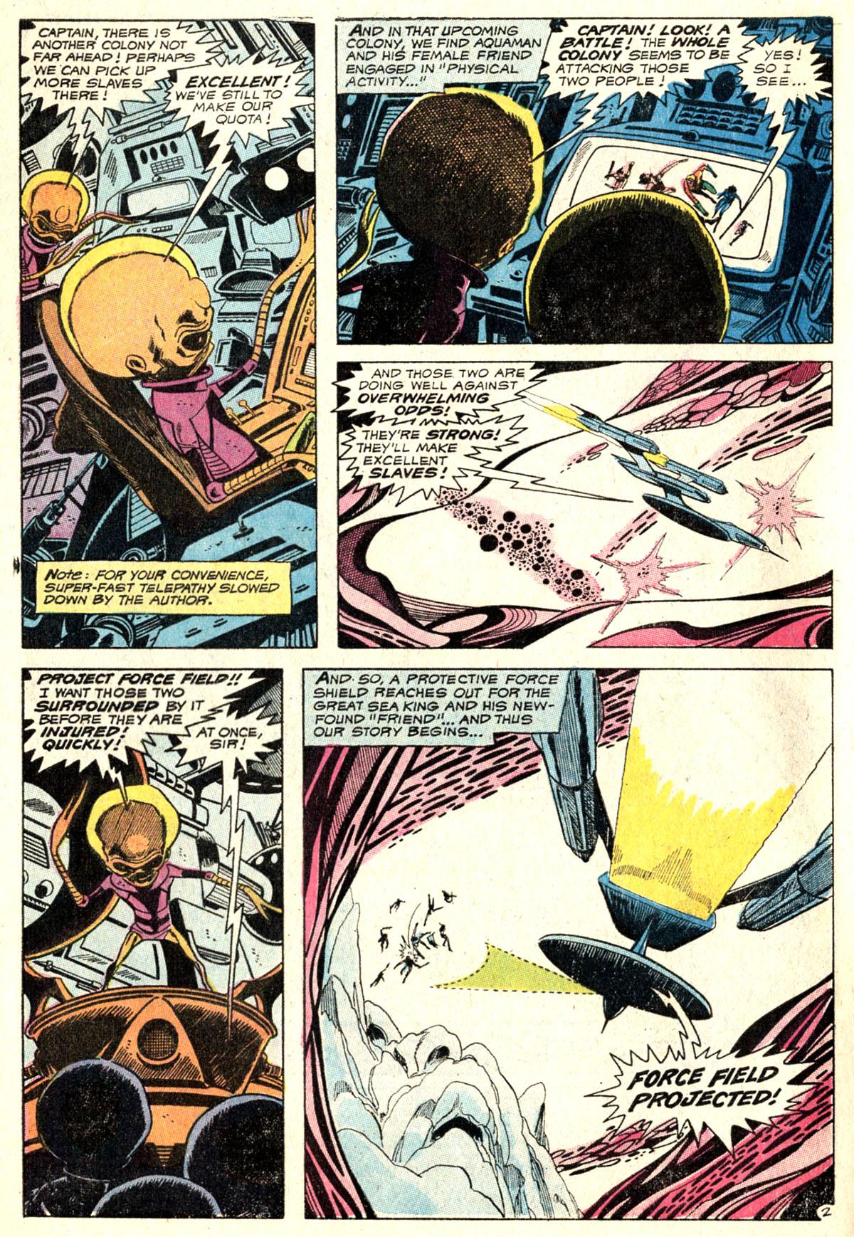 Read online Aquaman (1962) comic -  Issue #52 - 4
